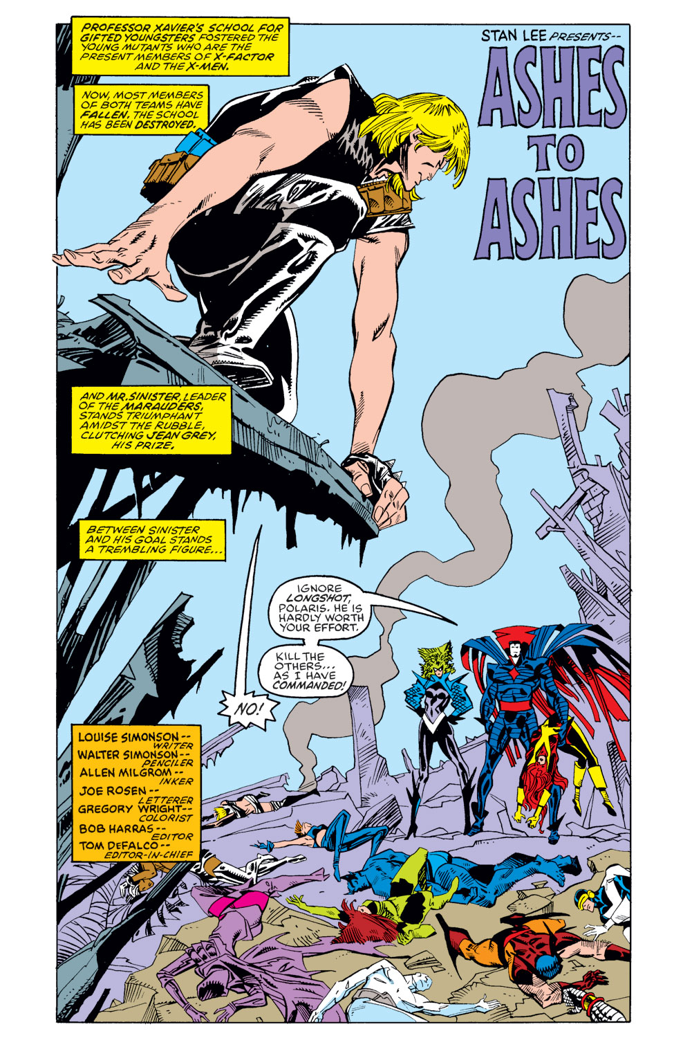 Read online X-Factor (1986) comic -  Issue #39 - 2