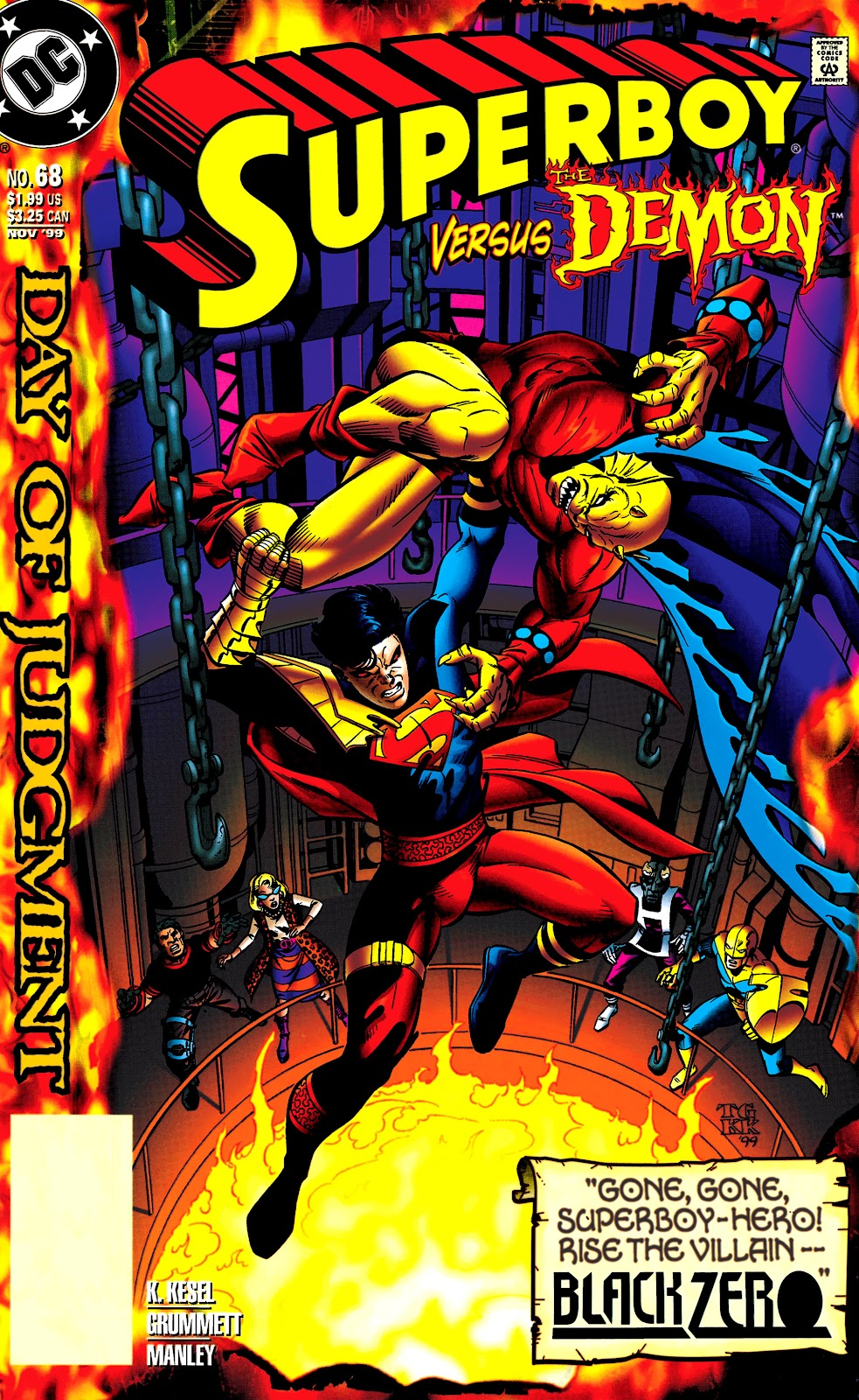 Superboy (1994) 68 Page 1