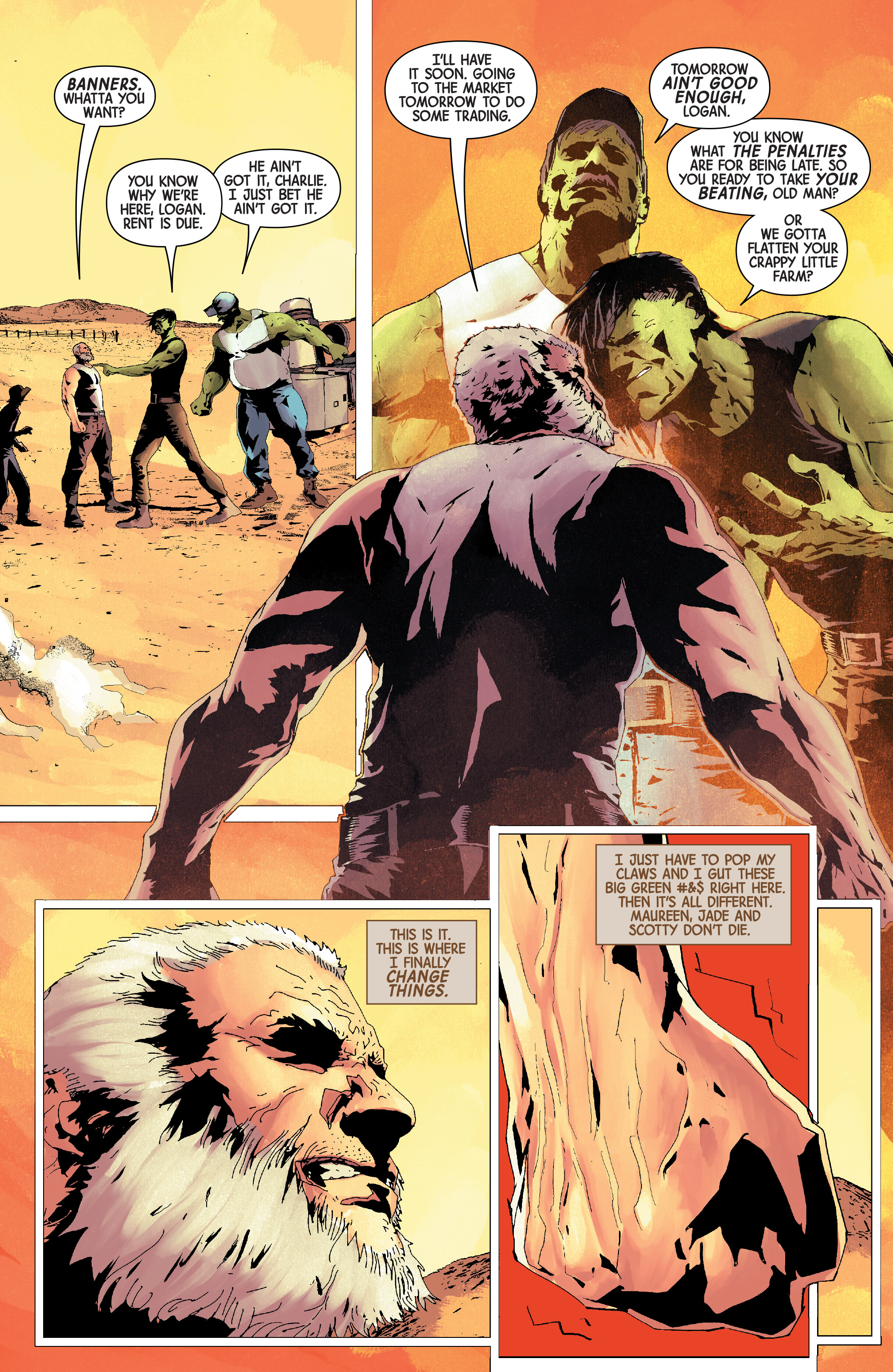 Read online Old Man Logan (2016) comic -  Issue #24 - 12