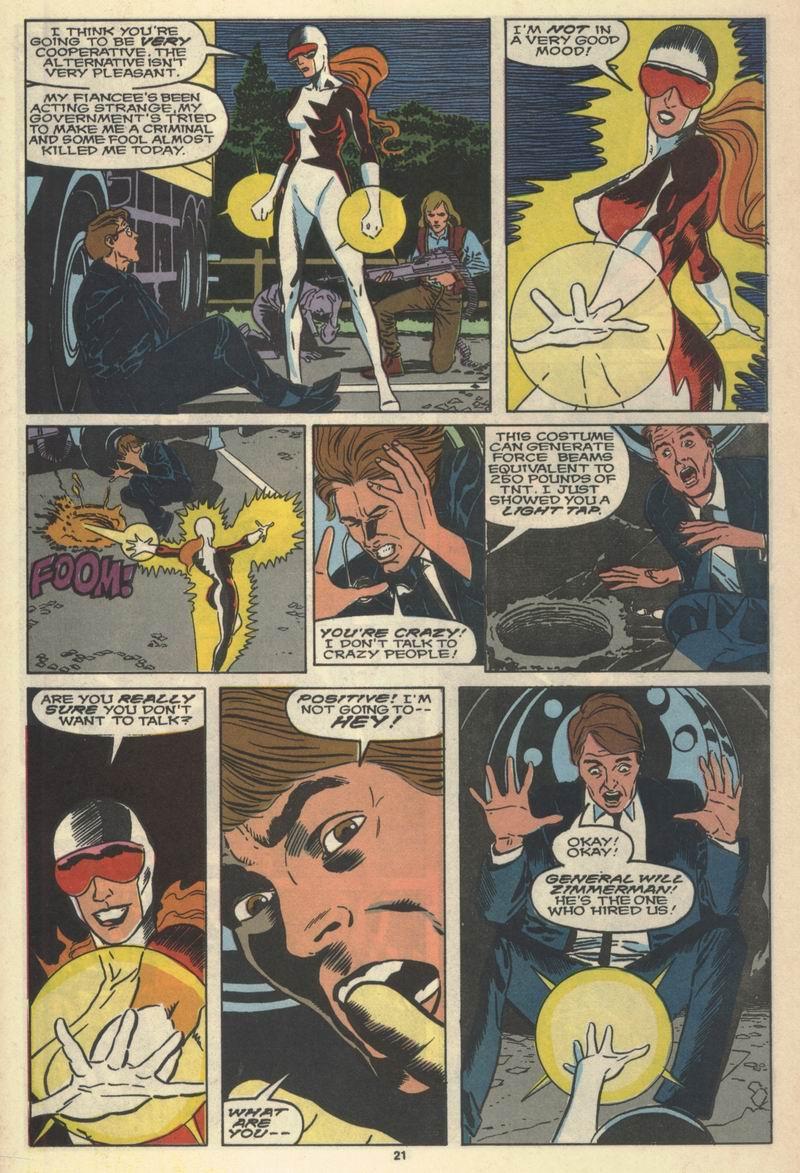 Read online Alpha Flight (1983) comic -  Issue #77 - 23