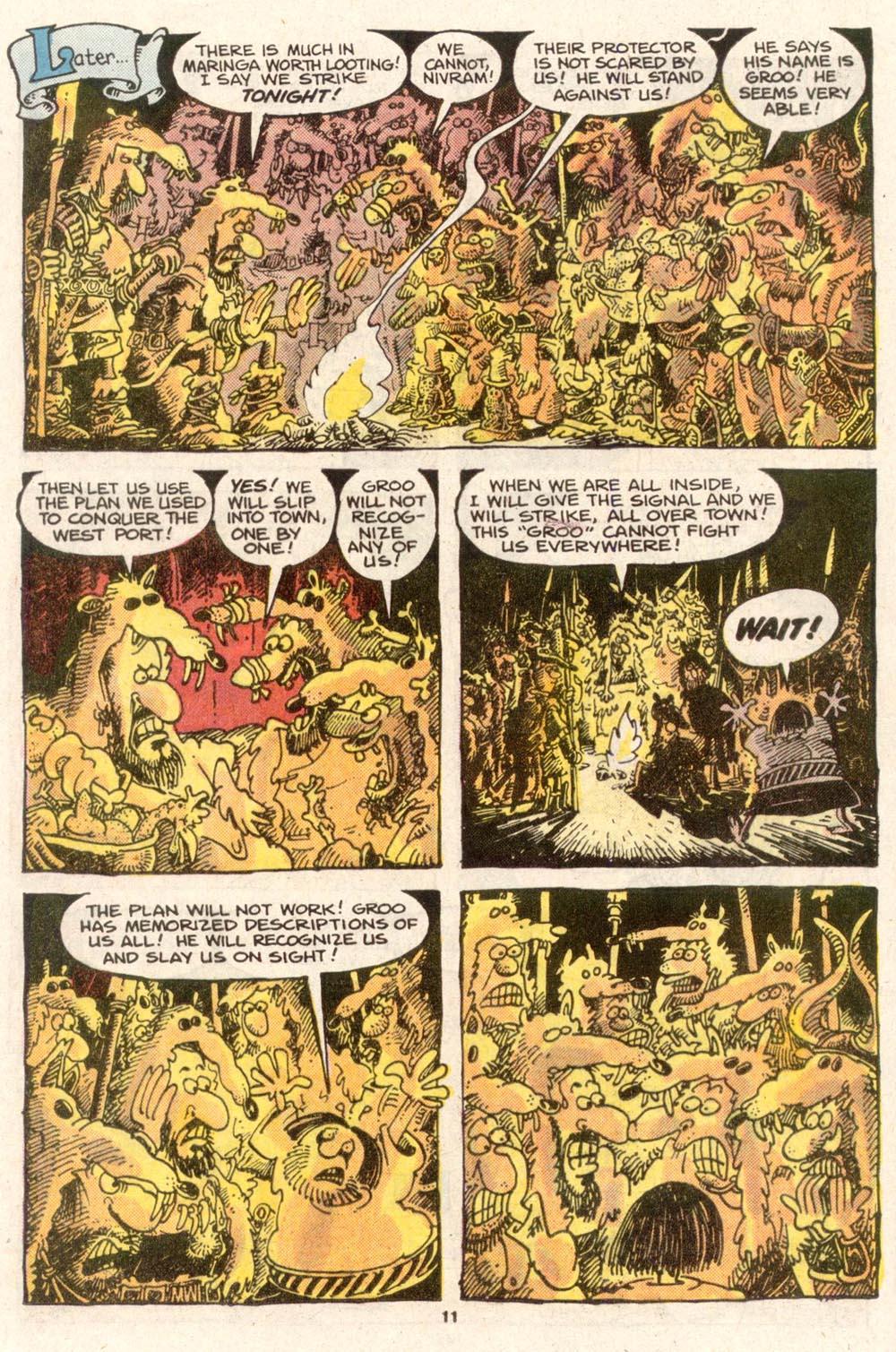 Read online Sergio Aragonés Groo the Wanderer comic -  Issue #49 - 11