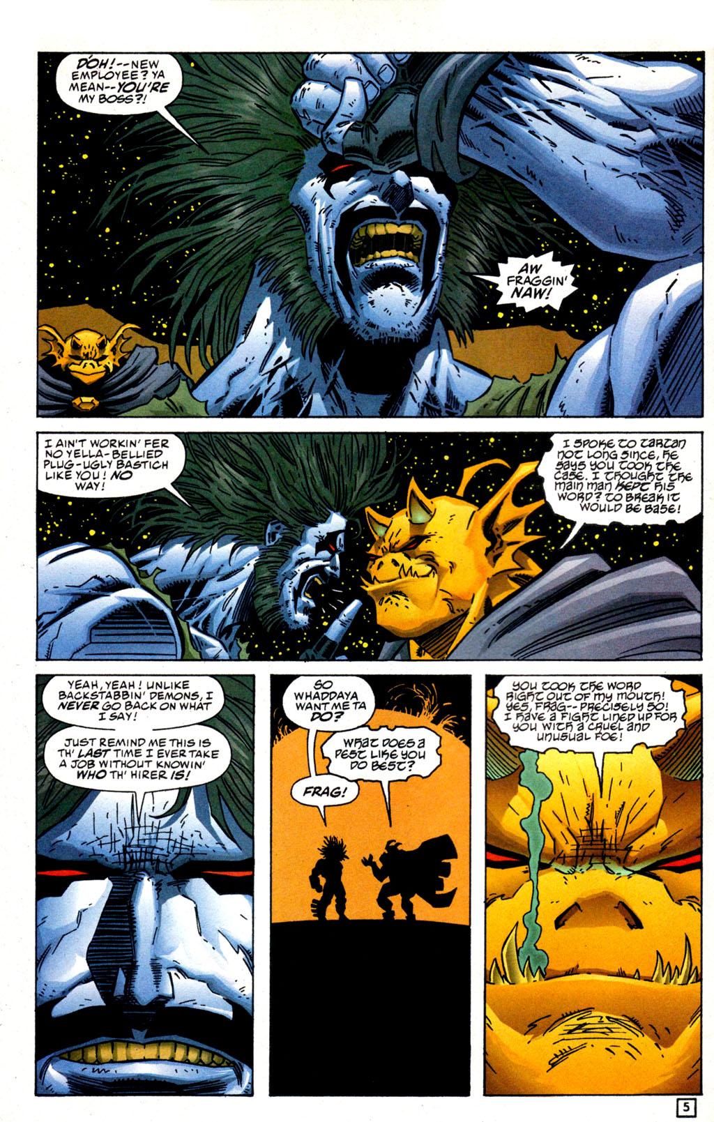 Read online Lobo/Demon: Hellowe'en comic -  Issue # Full - 6