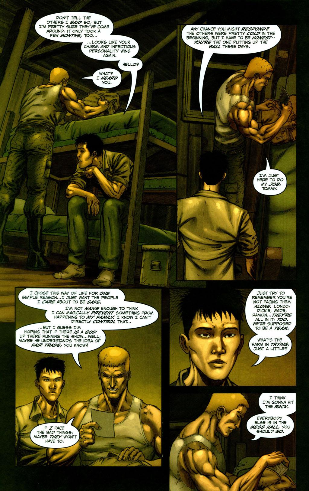 Read online Snake Eyes: Declassified comic -  Issue #1 - 14