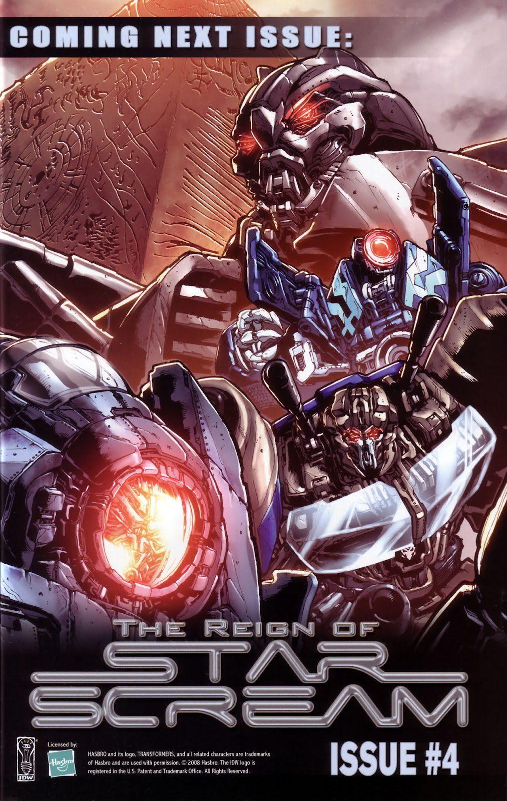 Comic Transformers: The Reign of Starscream issue 3
