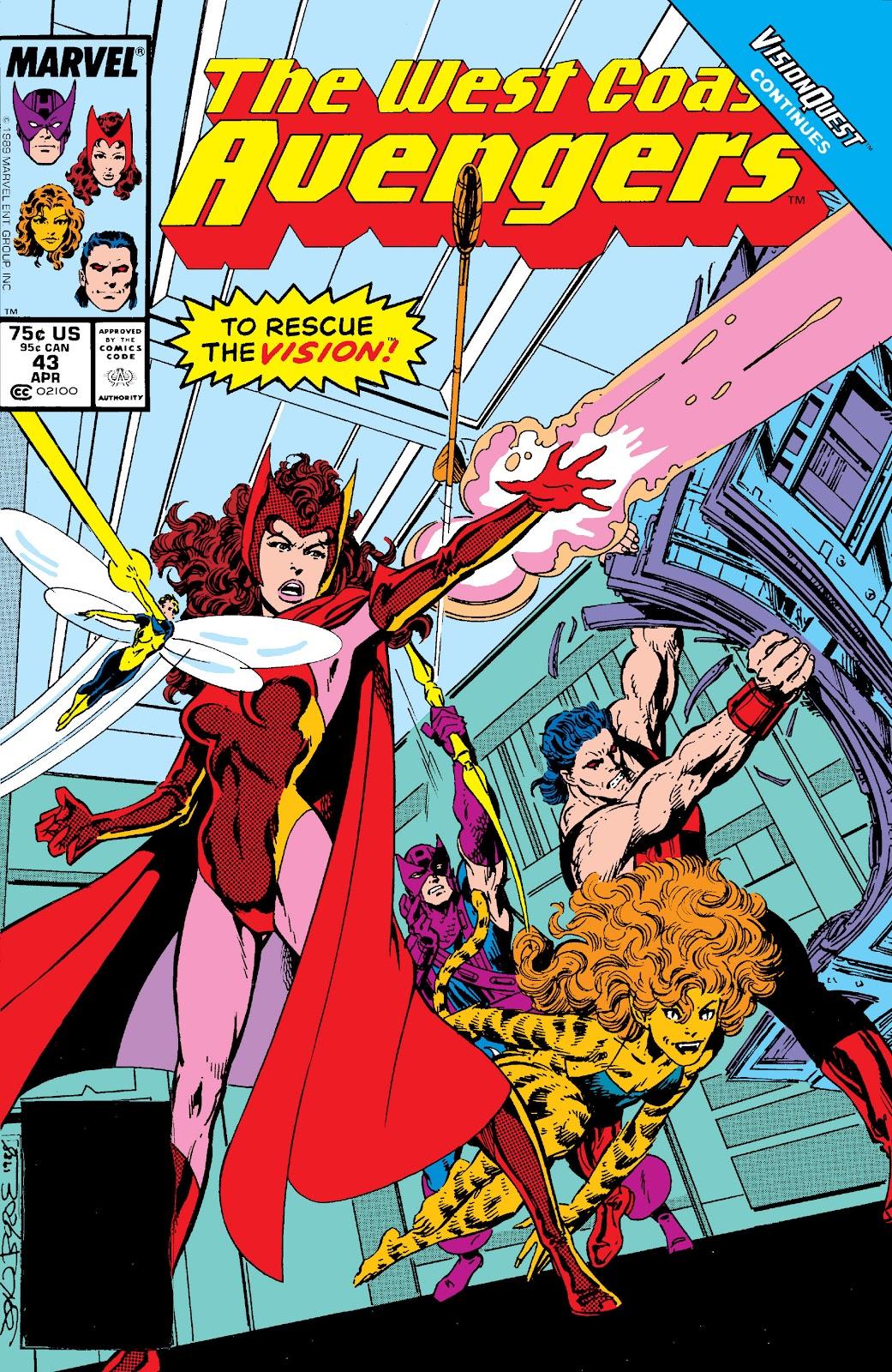 West Coast Avengers (1985) 43 Page 1