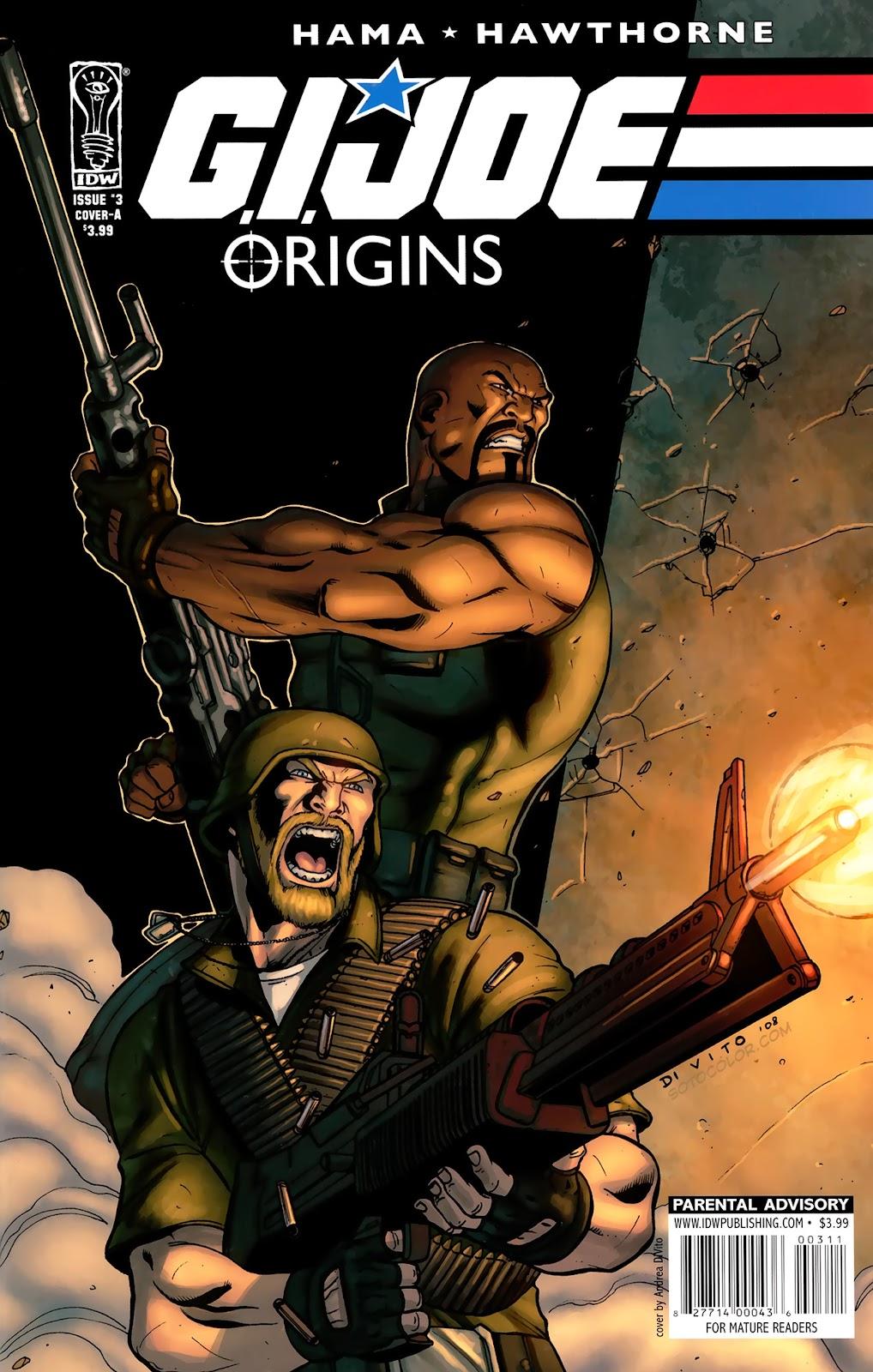 G.I. Joe: Origins issue 3 - Page 1