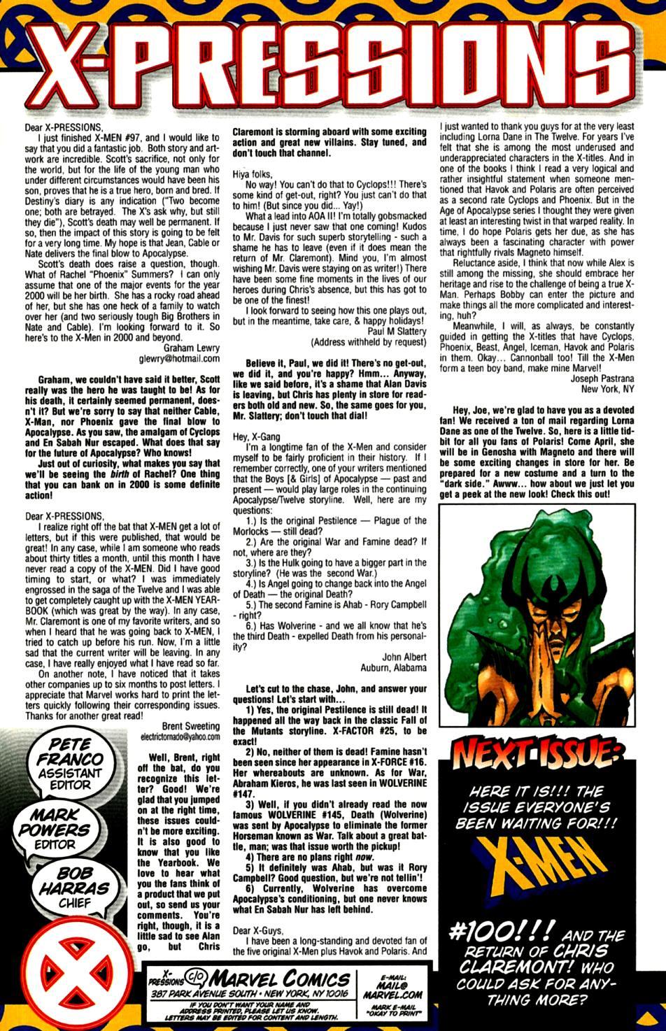 X-Men (1991) 99 Page 23
