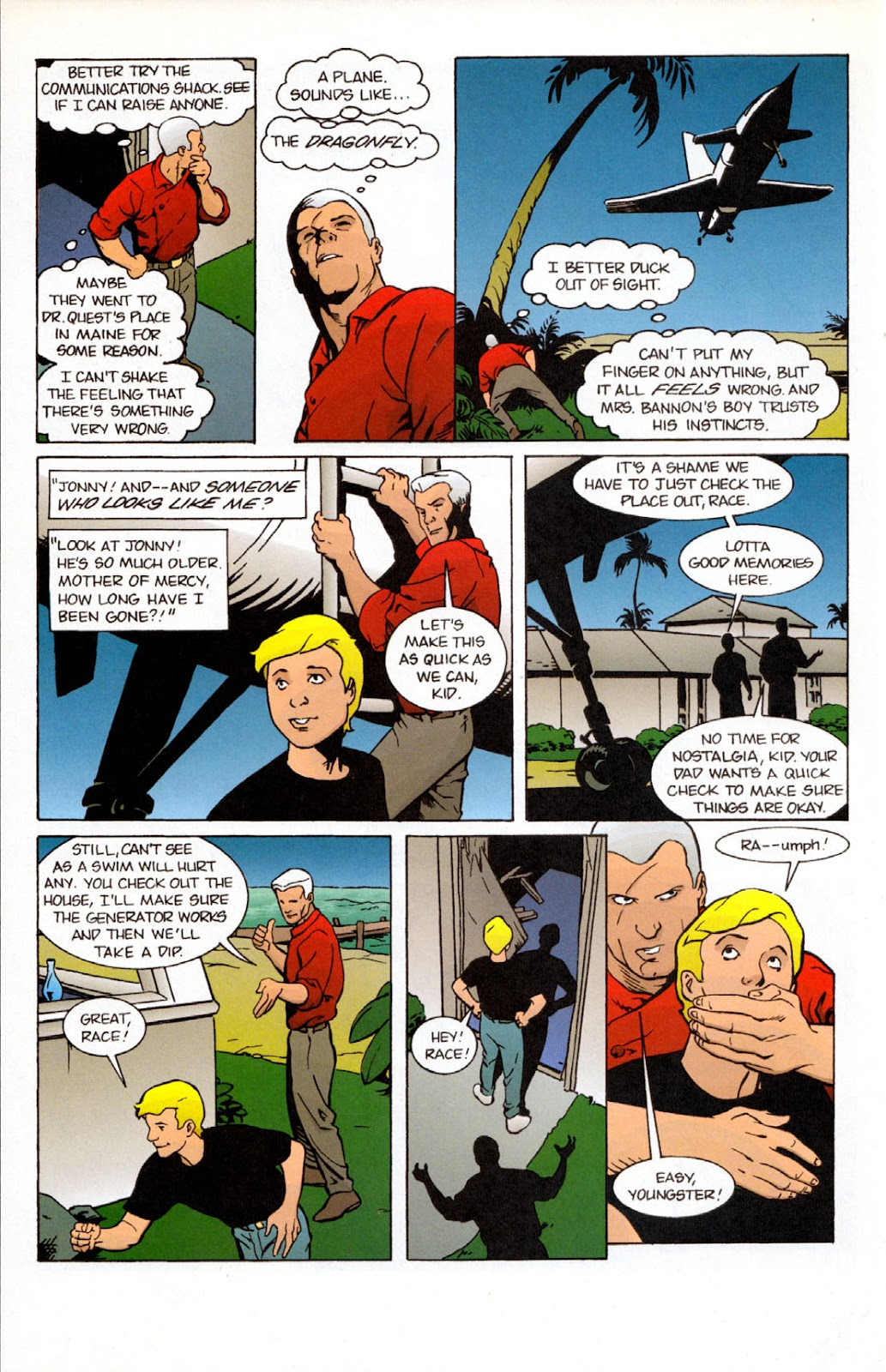 Read online The Real Adventures of Jonny Quest comic -  Issue #7 - 22