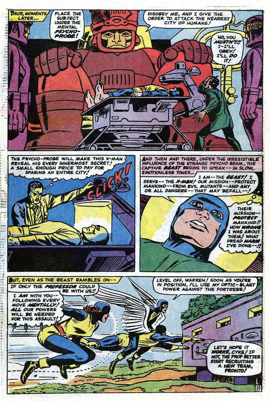 Uncanny X-Men (1963) 68 Page 36