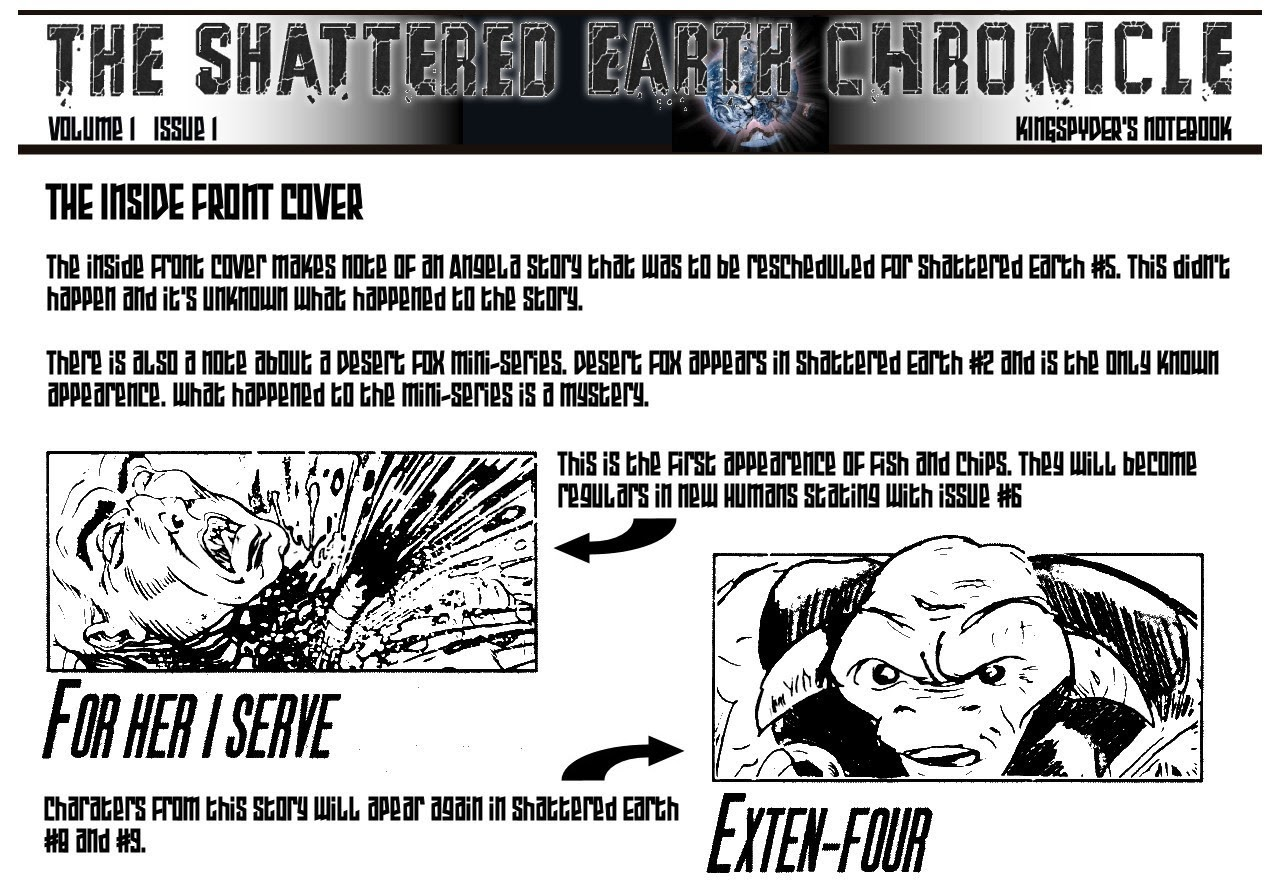 Shattered Earth issue 1 - Page 26