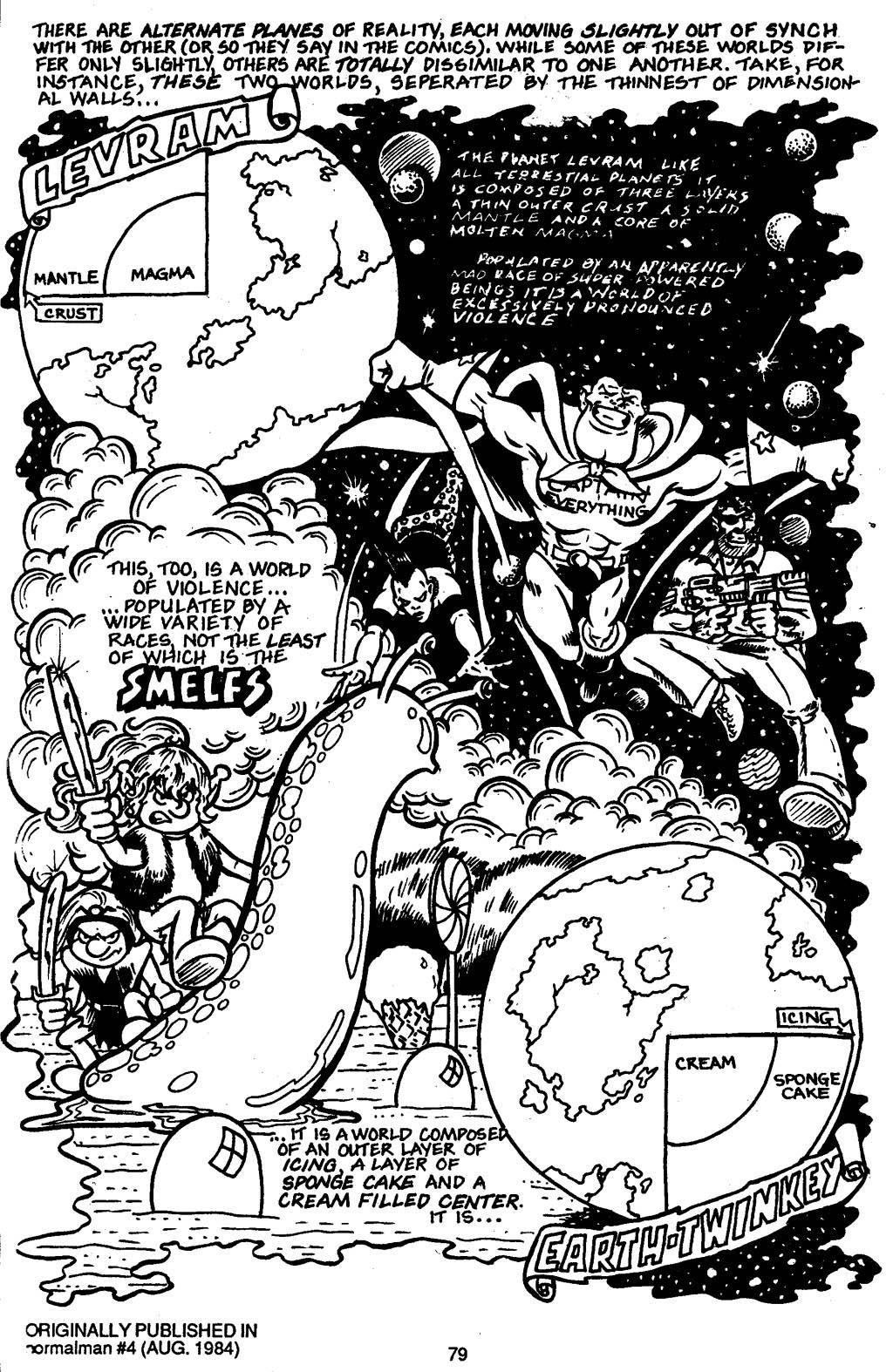 Read online Normalman - The Novel comic -  Issue # TPB (Part 1) - 82