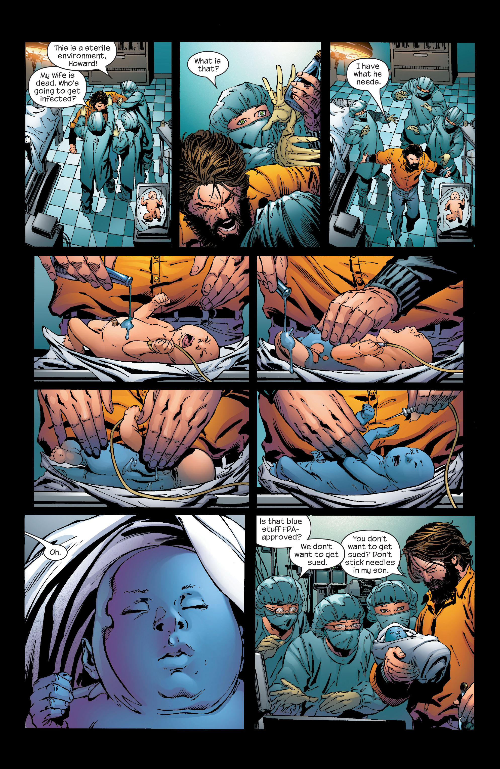Read online Ultimate Iron Man (2005) comic -  Issue #2 - 5