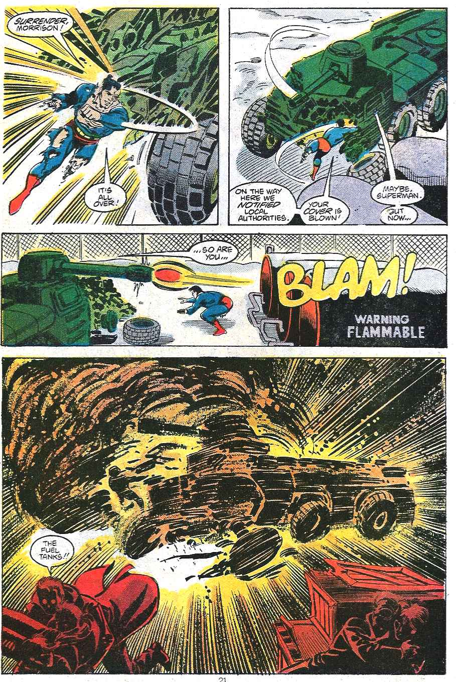 Read online Adventures of Superman (1987) comic -  Issue #439 - 22