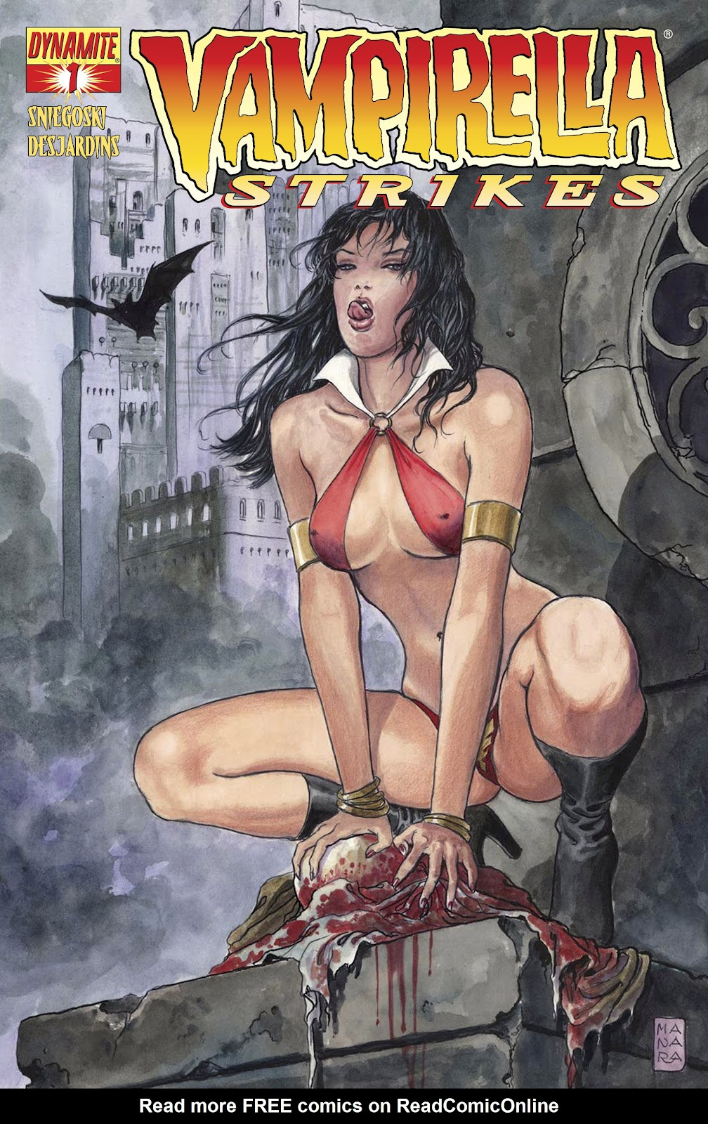 Read online Vampirella Strikes comic -  Issue #1 - 3