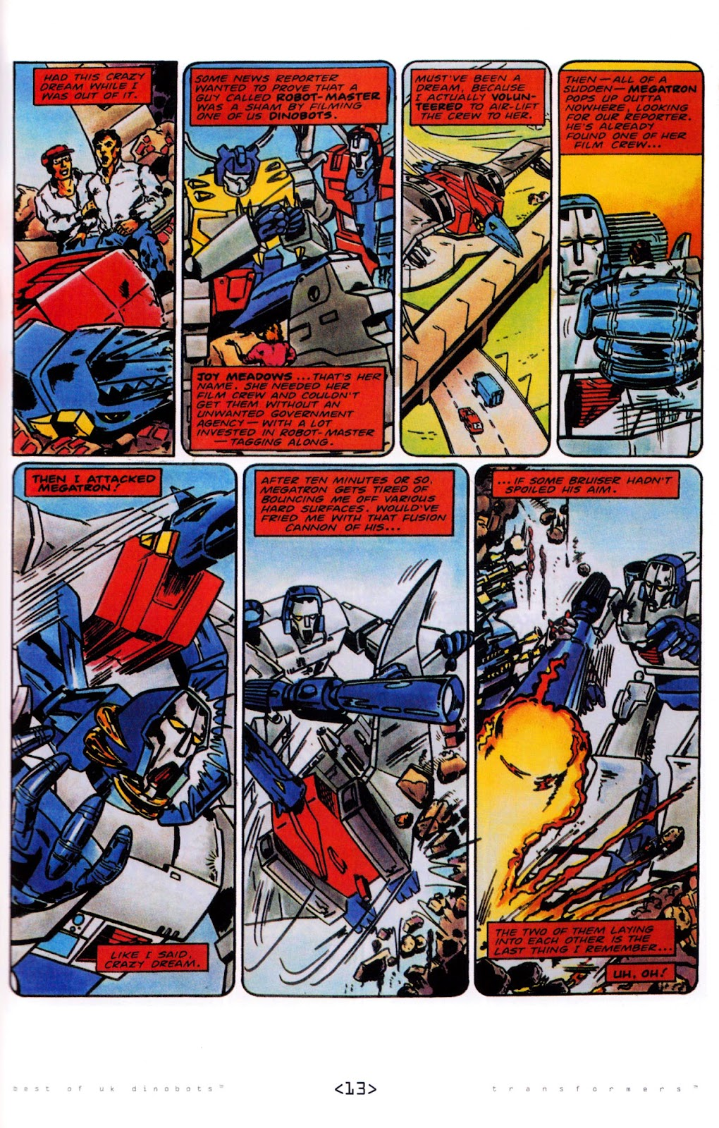 Read online The Transformers: Best of UK: Dinobots comic -  Issue #5 - 15