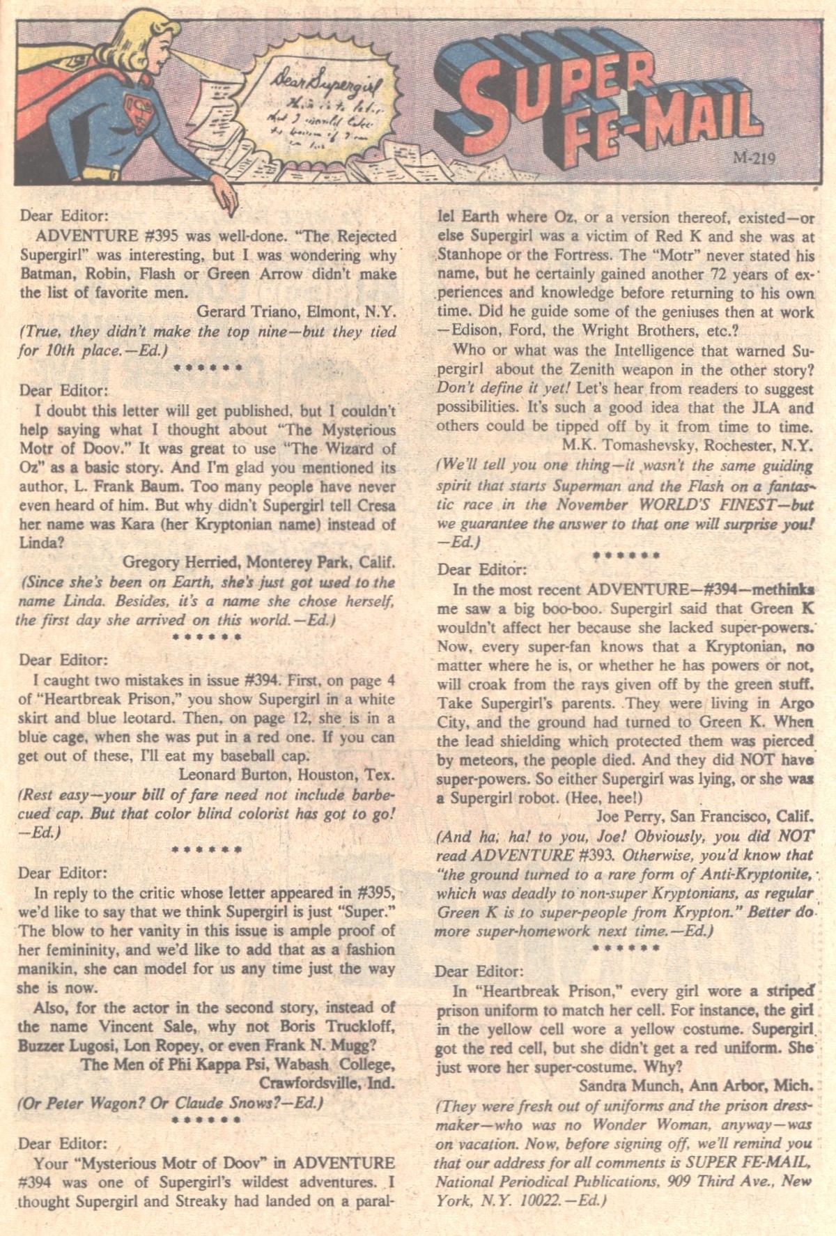 Read online Adventure Comics (1938) comic -  Issue #398 - 21
