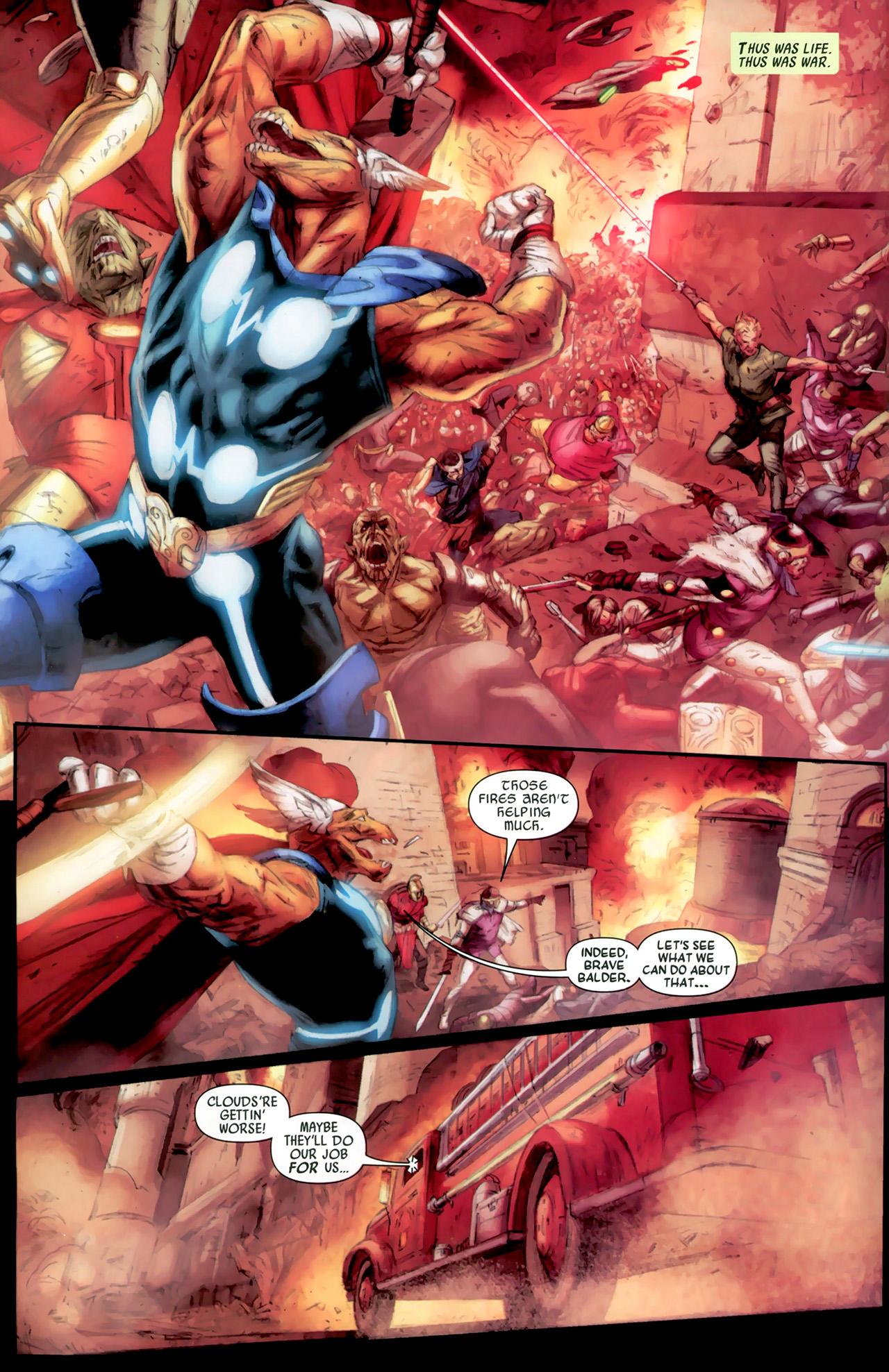 Read online Secret Invasion: Thor comic -  Issue #2 - 9