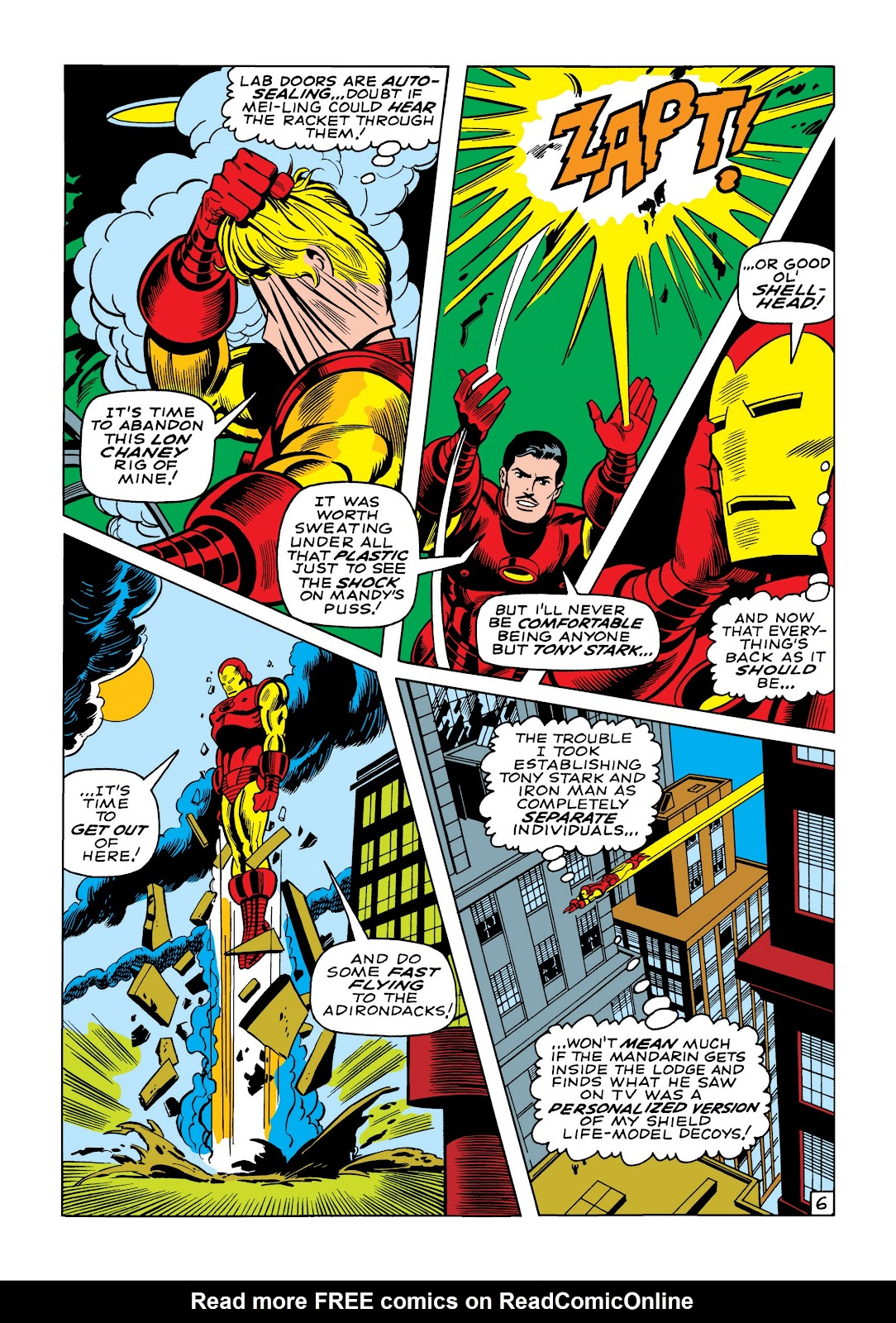 Read online Marvel Masterworks: The Invincible Iron Man comic -  Issue # TPB 5 (Part 3) - 2