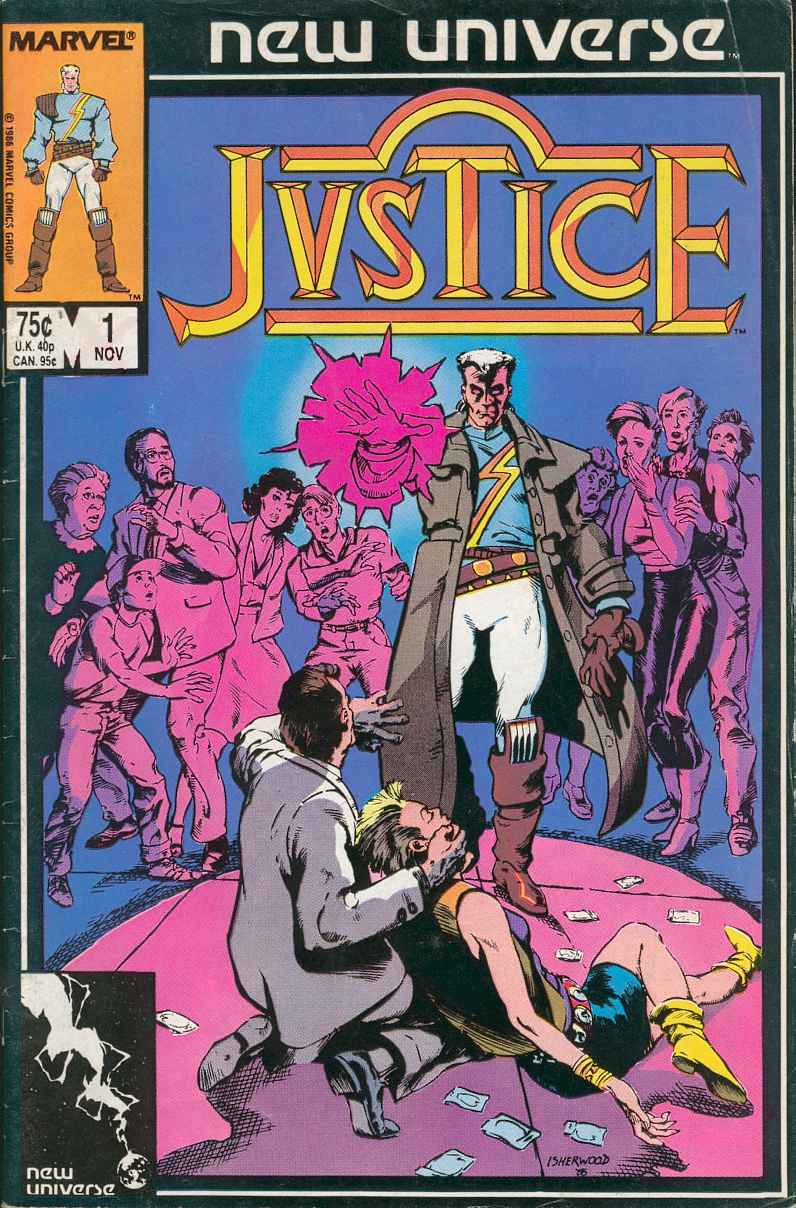Read online Justice (1986) comic -  Issue #1 - 1