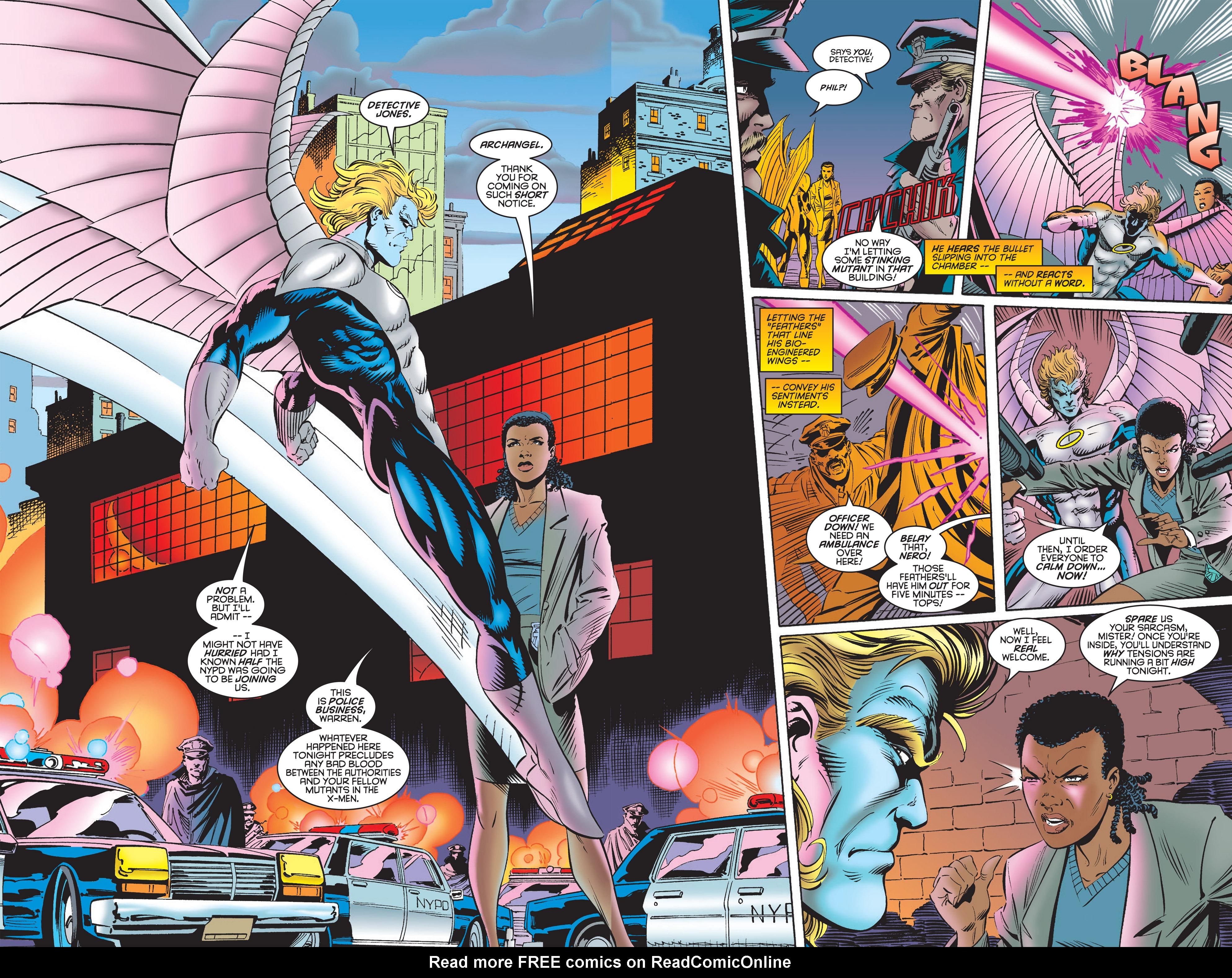 Read online Uncanny X-Men (1963) comic -  Issue #322 - 3