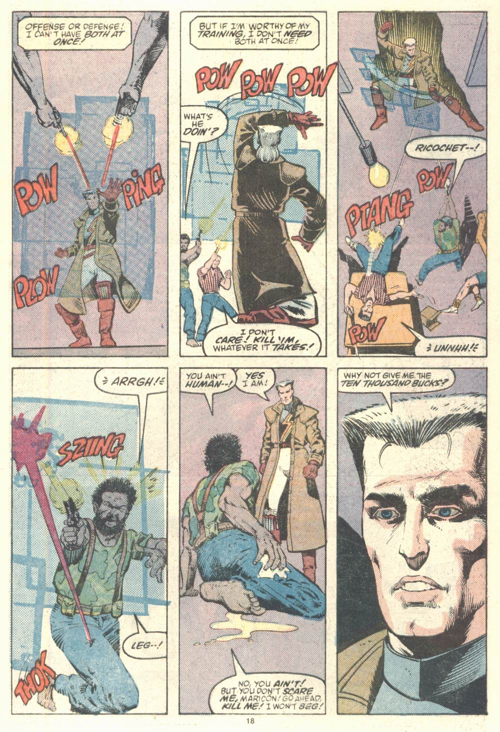 Read online Justice (1986) comic -  Issue #2 - 19