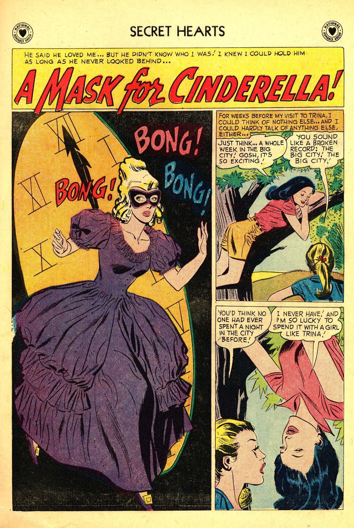 Read online Secret Hearts comic -  Issue #54 - 19