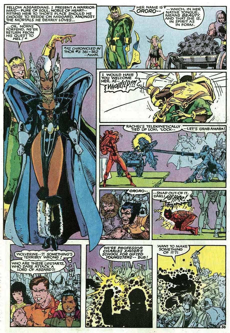 Uncanny X-Men (1963) issue _Annual_9 - Page 38