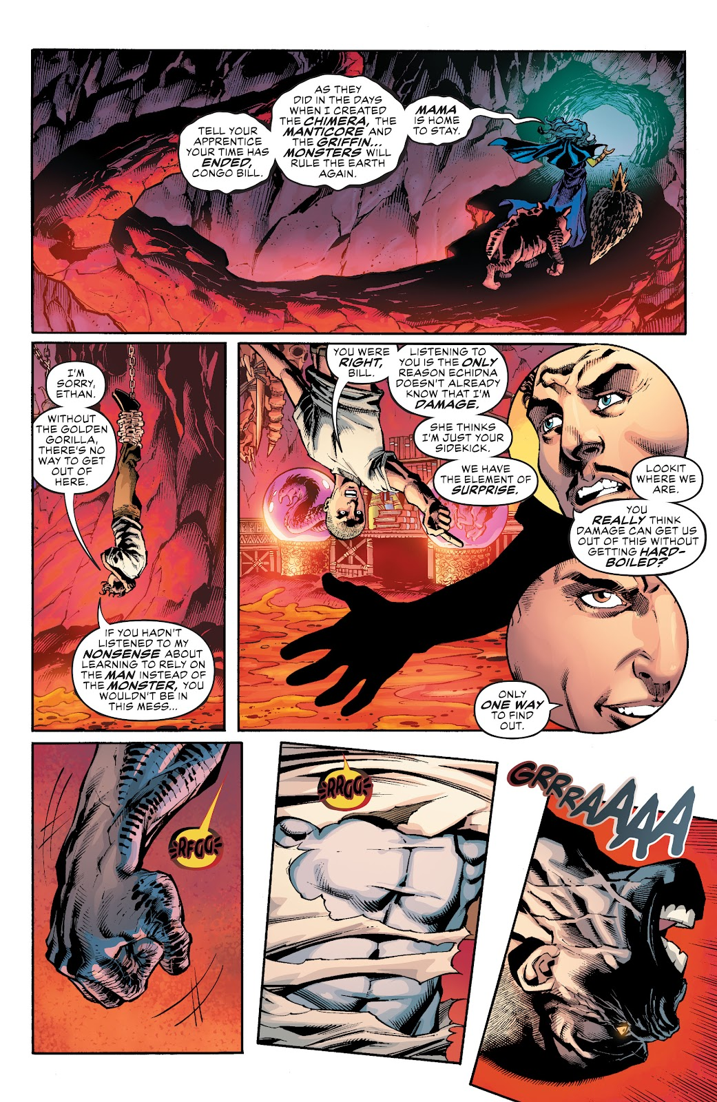 Read online Damage (2018) comic -  Issue #16 - 5