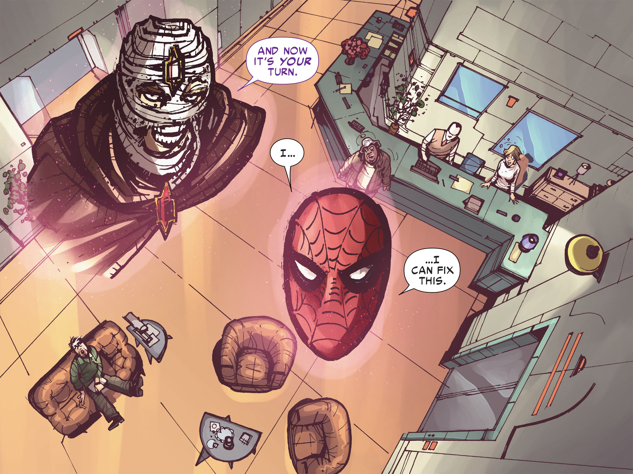 Read online Amazing Spider-Man: Who Am I? comic -  Issue # Full (Part 3) - 175