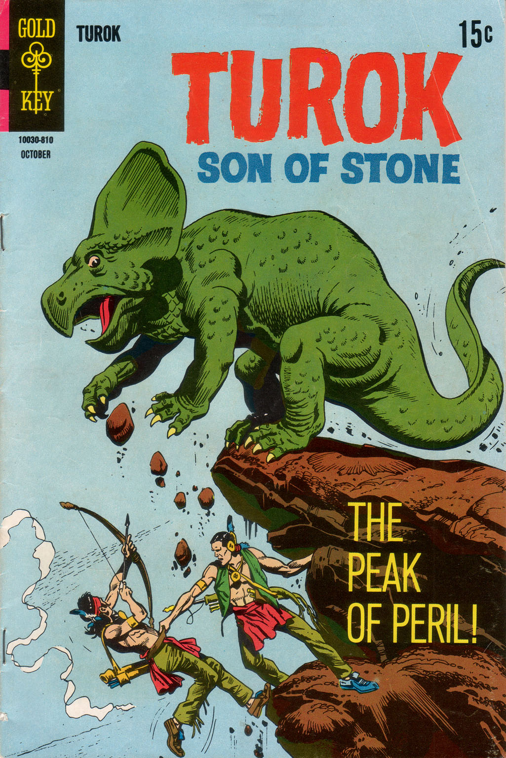 Read online Turok, Son of Stone comic -  Issue #63 - 1