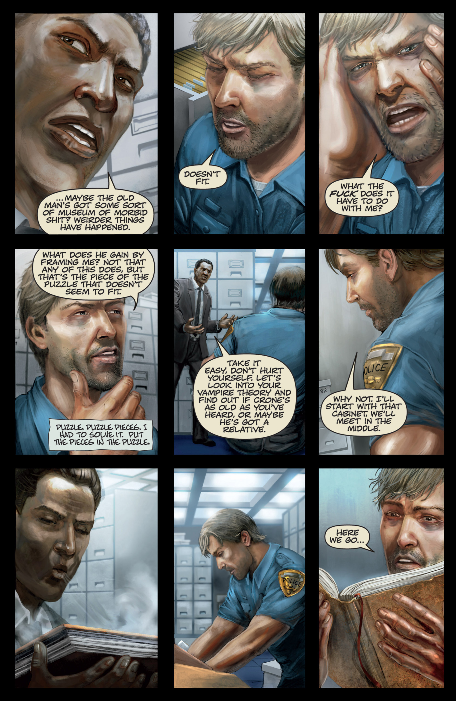 Read online Abattoir comic -  Issue #4 - 16