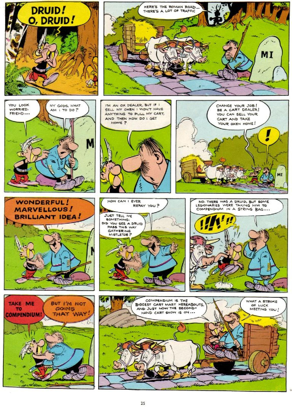Read online Asterix comic -  Issue #1 - 25