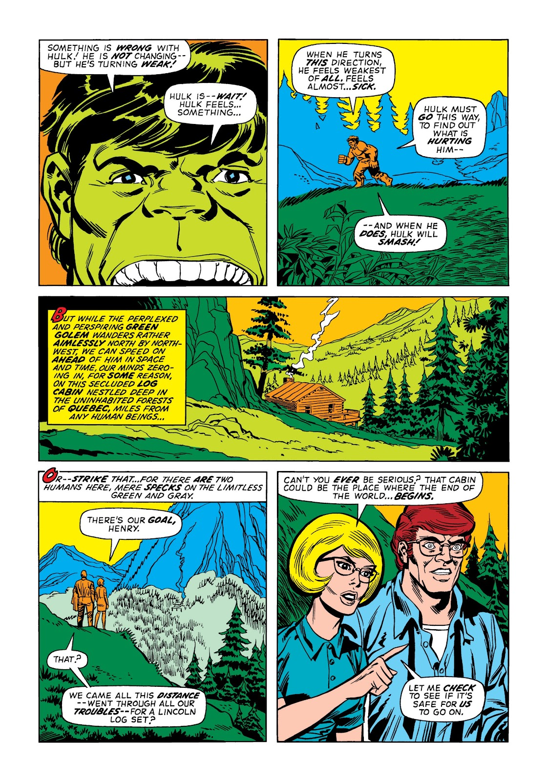 Read online Marvel Masterworks: The Incredible Hulk comic -  Issue # TPB 9 (Part 2) - 2
