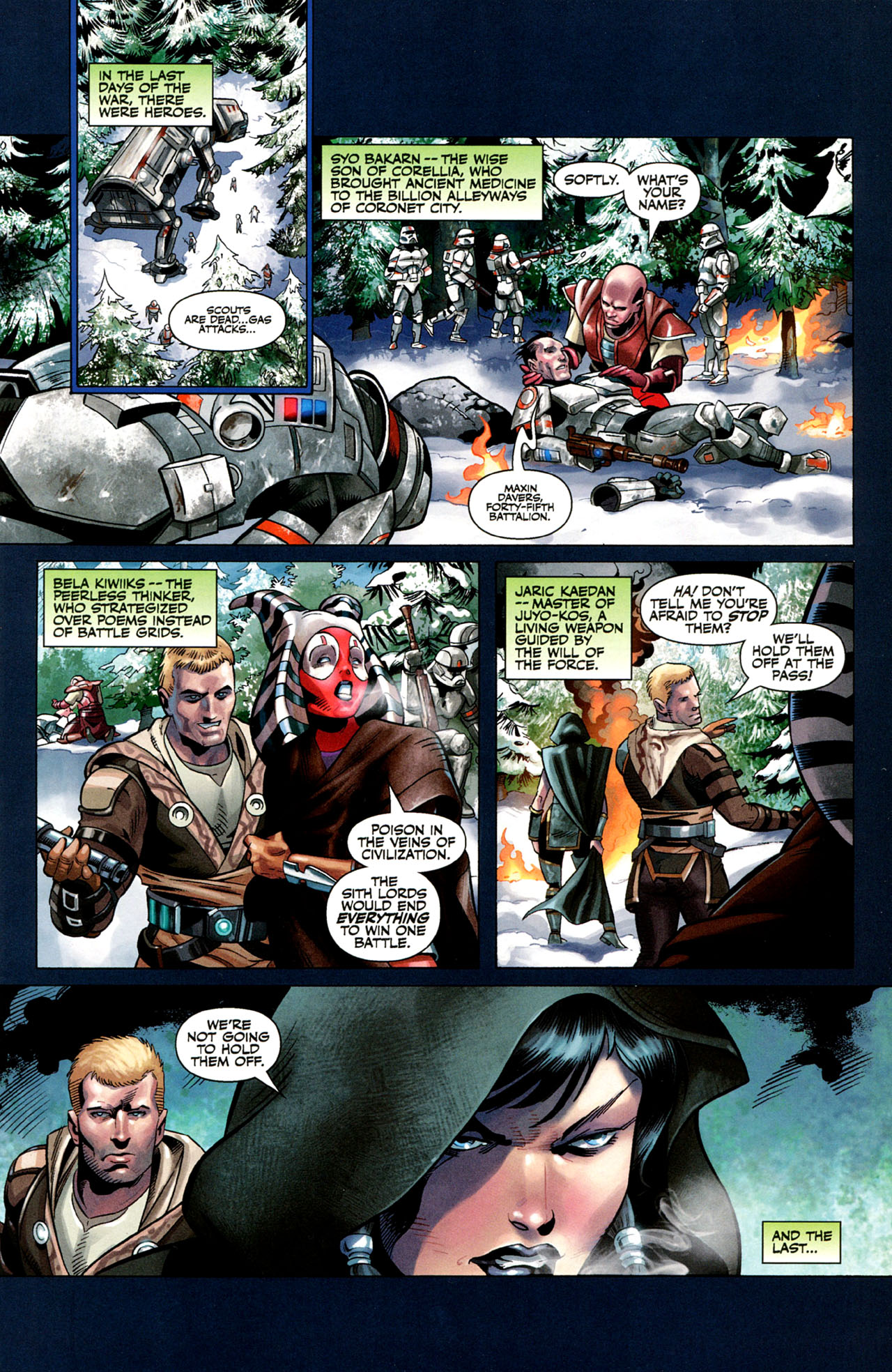 Read online Star Wars: The Old Republic - The Lost Suns comic -  Issue #1 - 3