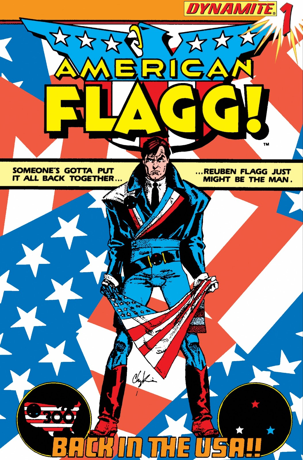 American Flagg! issue Definitive Collection (Part 1) - Page 9
