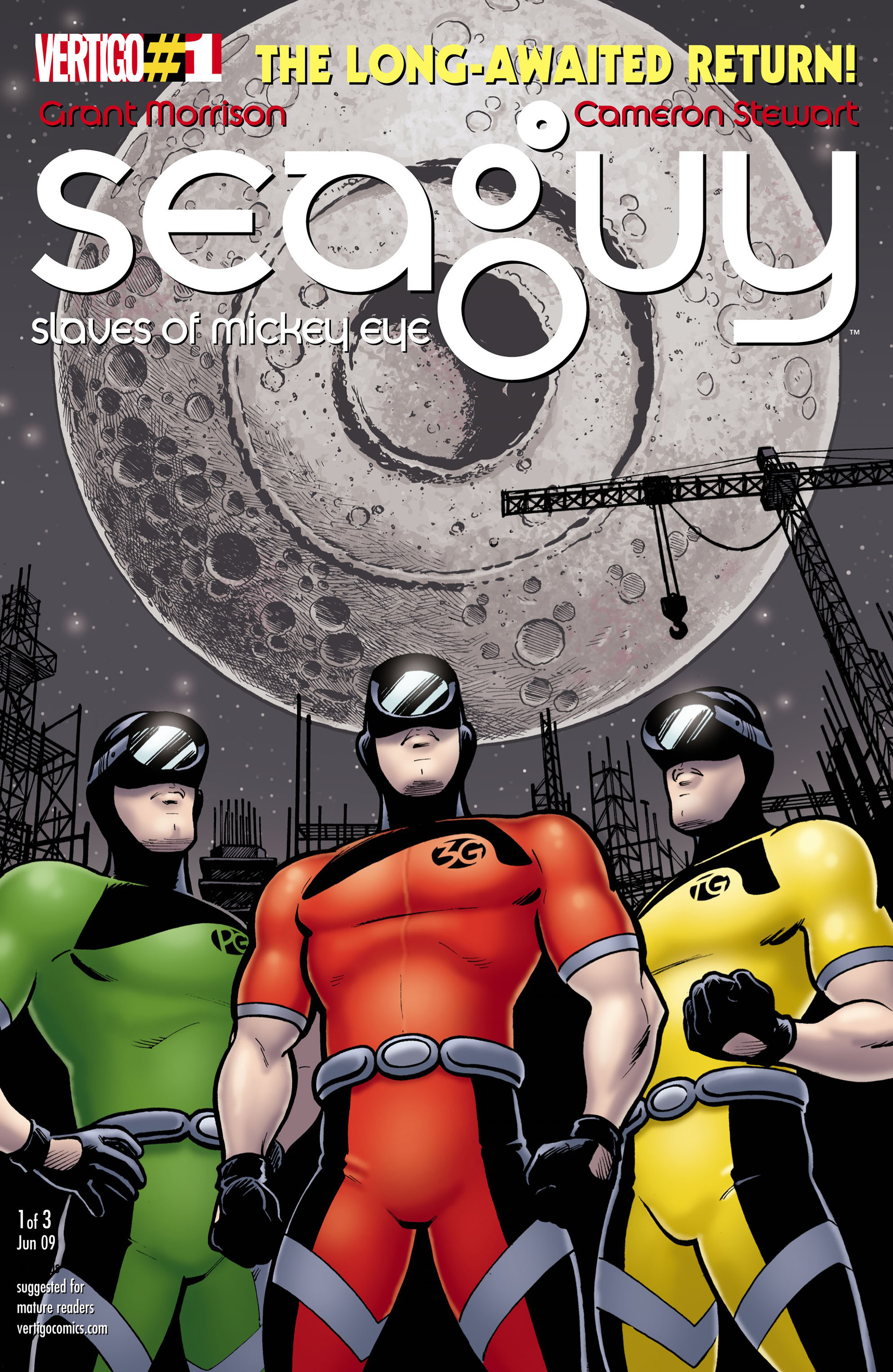 Read online Seaguy: The Slaves of Mickey Eye comic -  Issue #1 - 1