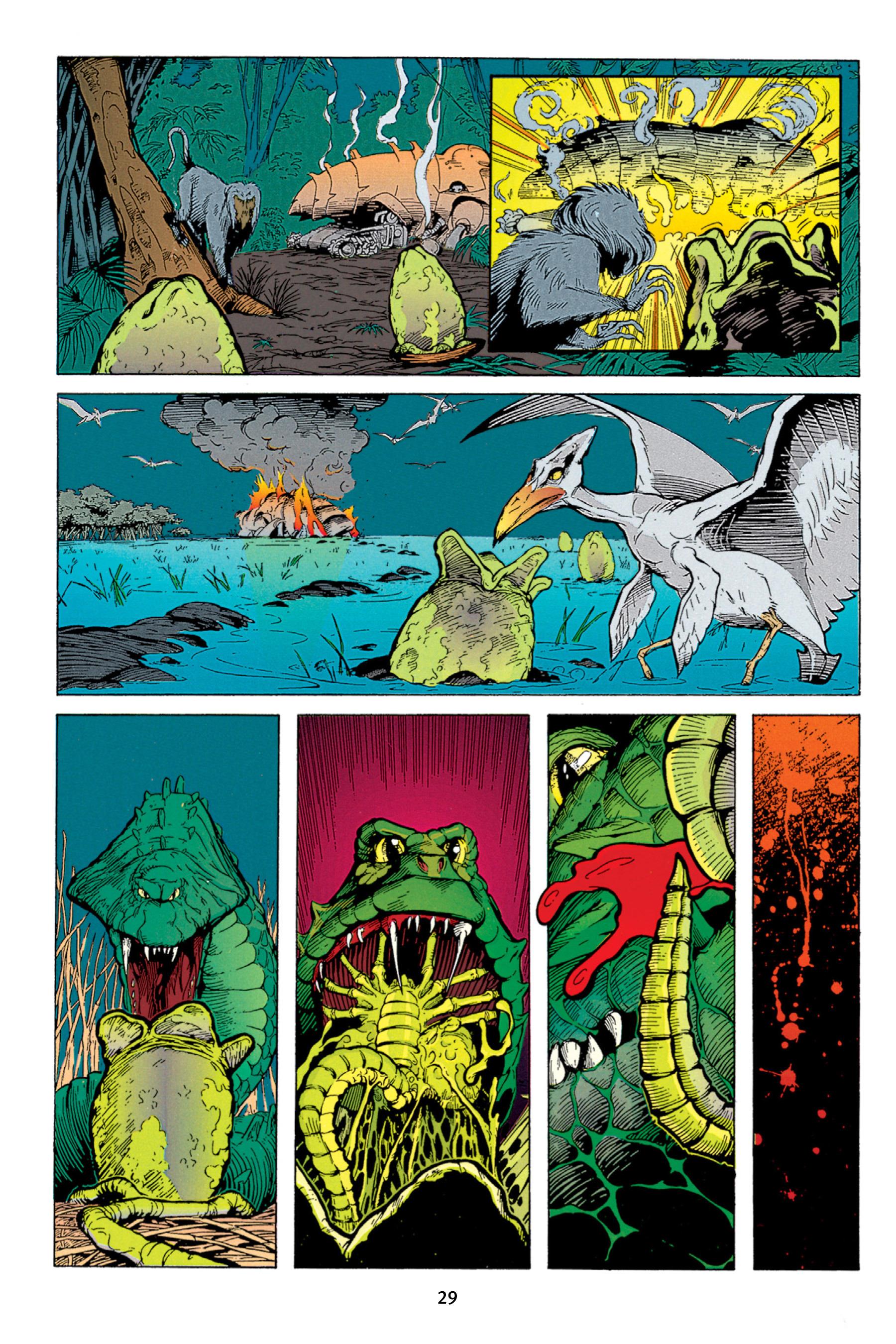 Read online Aliens vs. Predator Omnibus comic -  Issue # _TPB 1 Part 1 - 29
