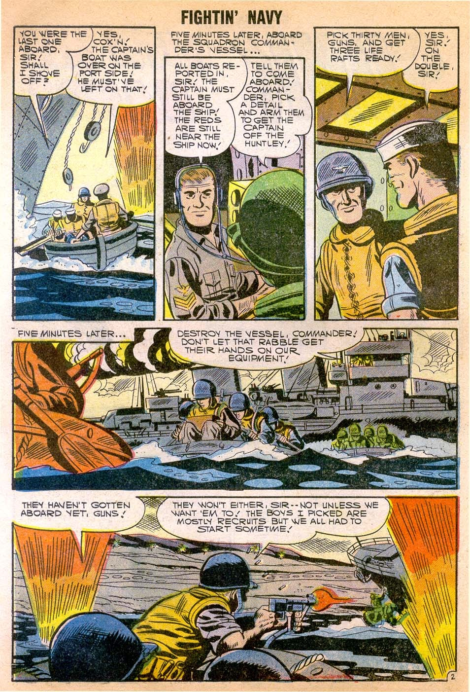 Read online Fightin' Navy comic -  Issue #79 - 28
