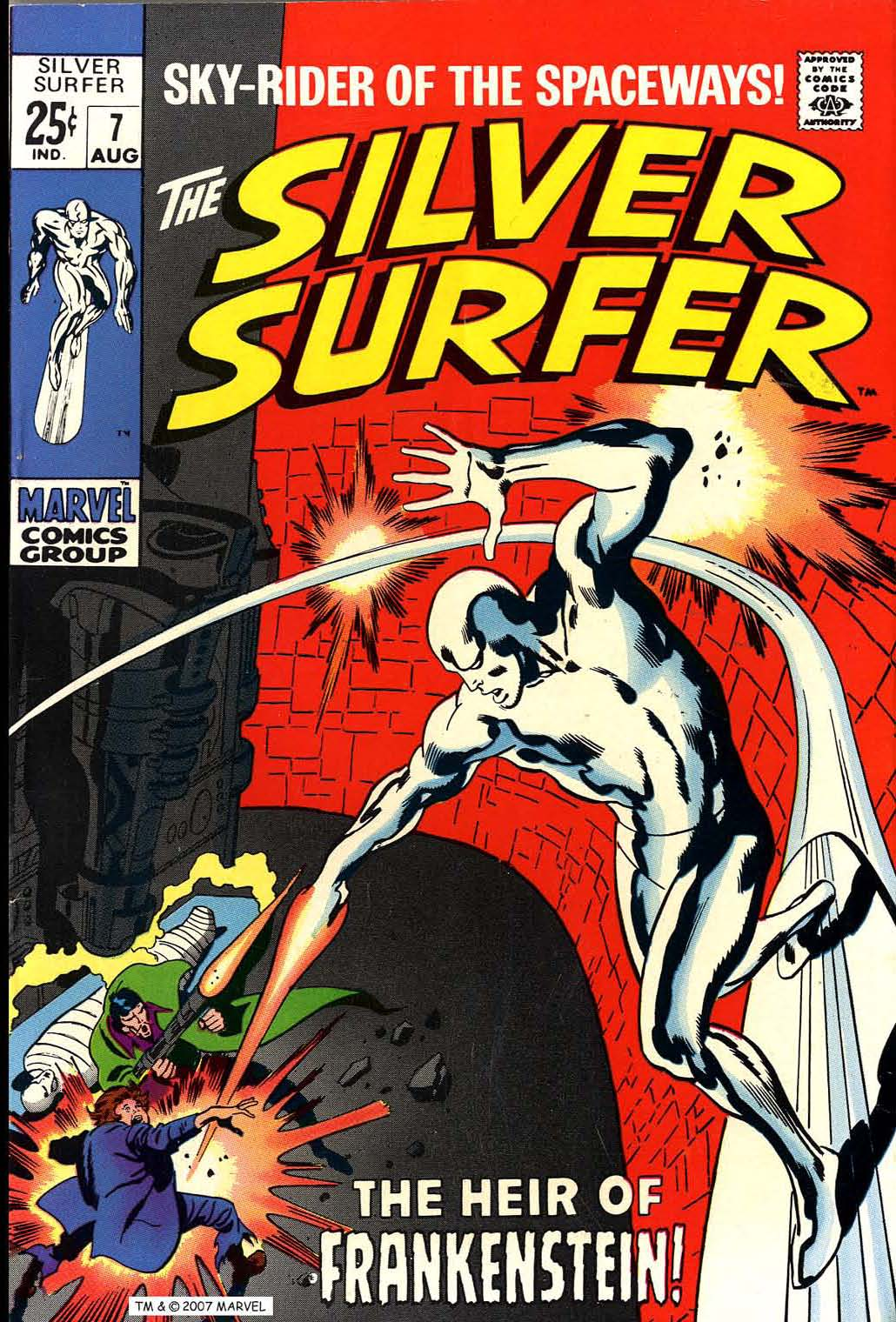 Silver Surfer (1968) 7 Page 1