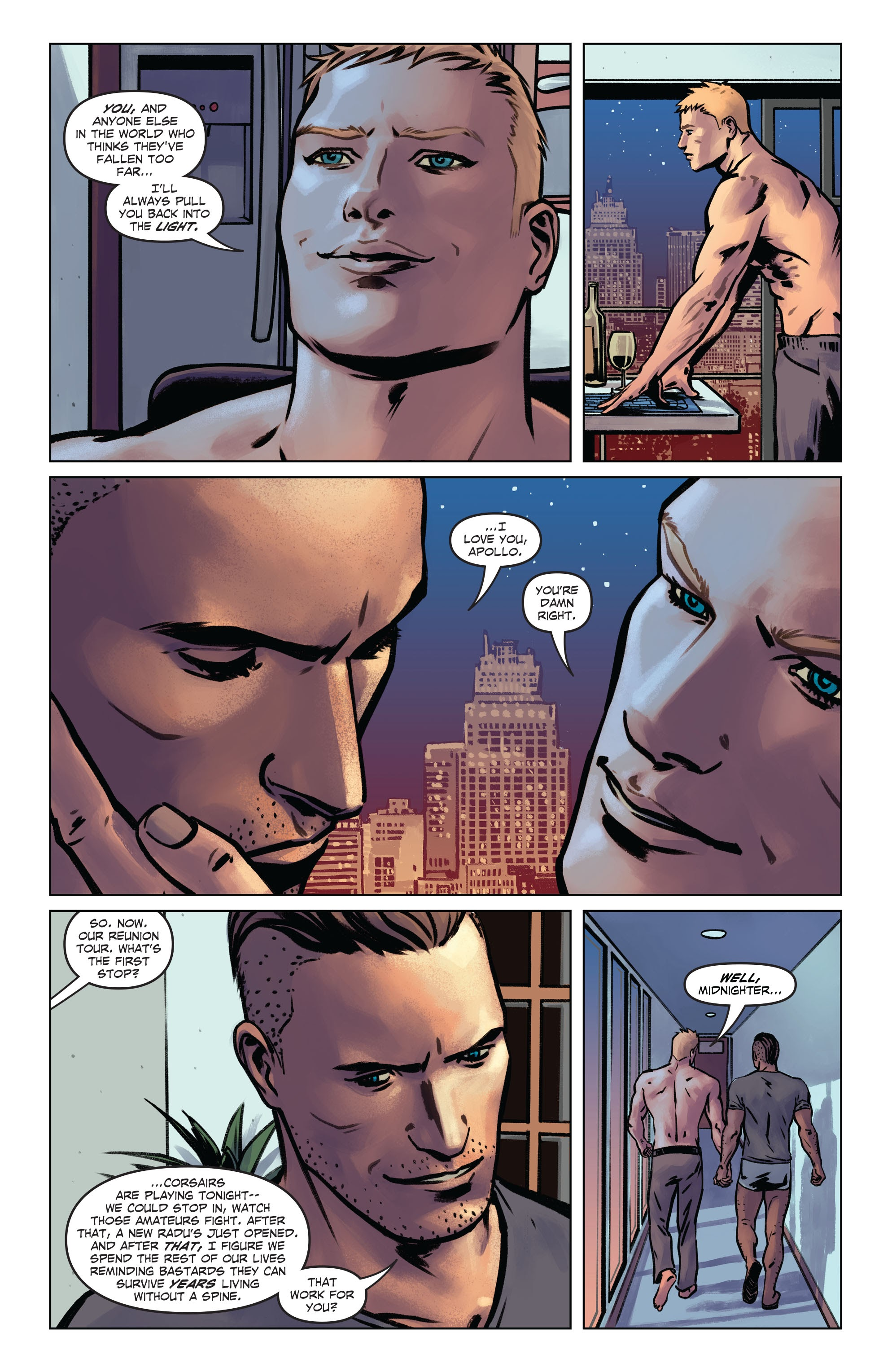 Midnighter and Apollo #_TPB #7 - English 134