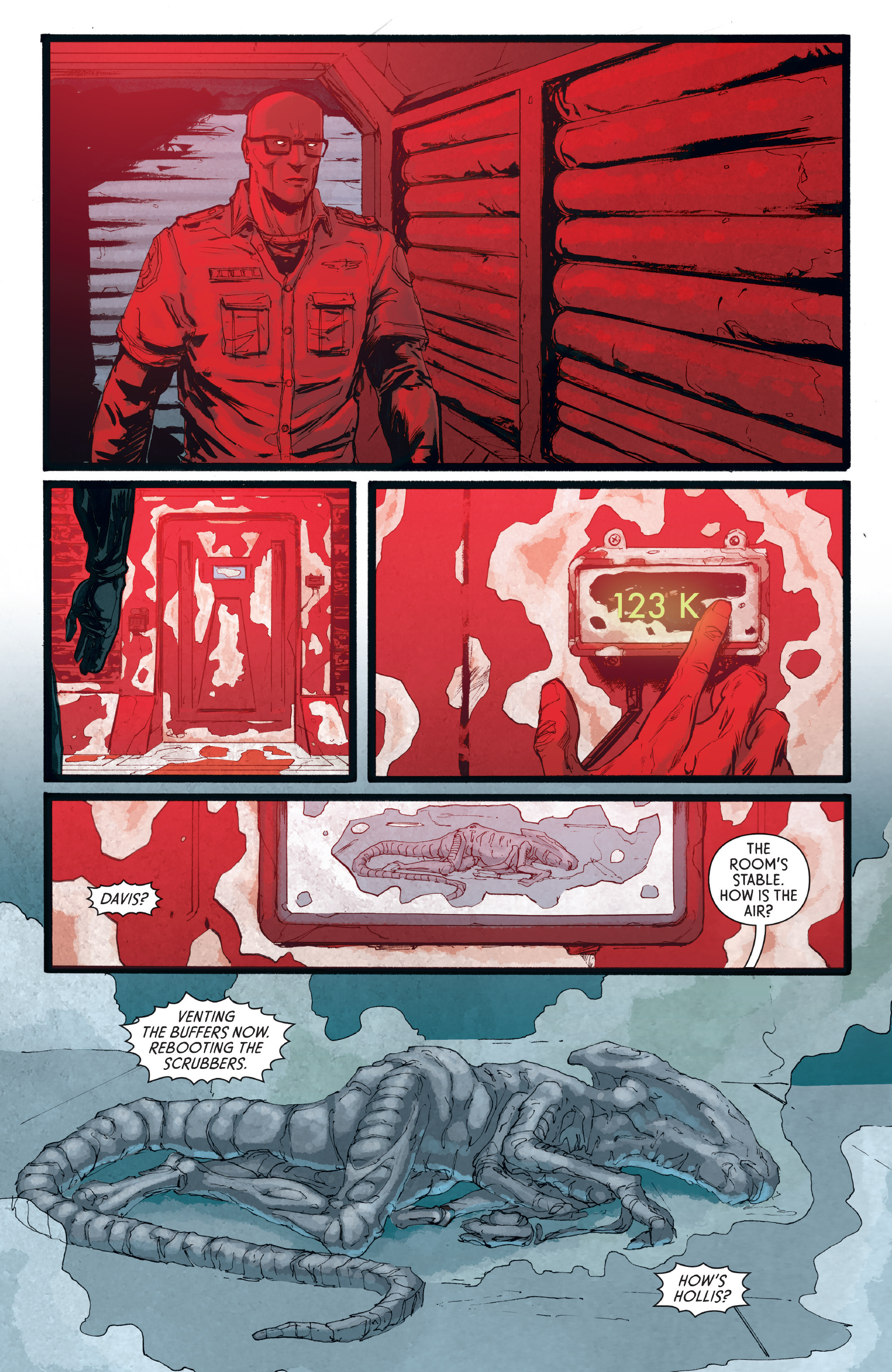 Read online Aliens: Defiance comic -  Issue #8 - 5