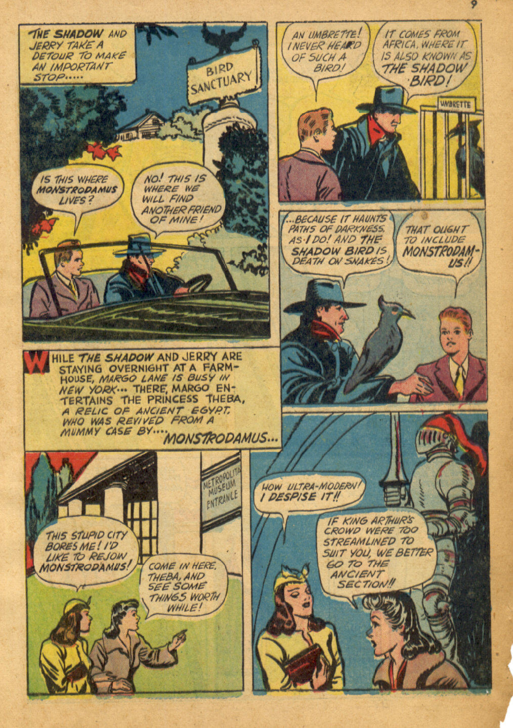 Read online Shadow Comics comic -  Issue #32 - 10