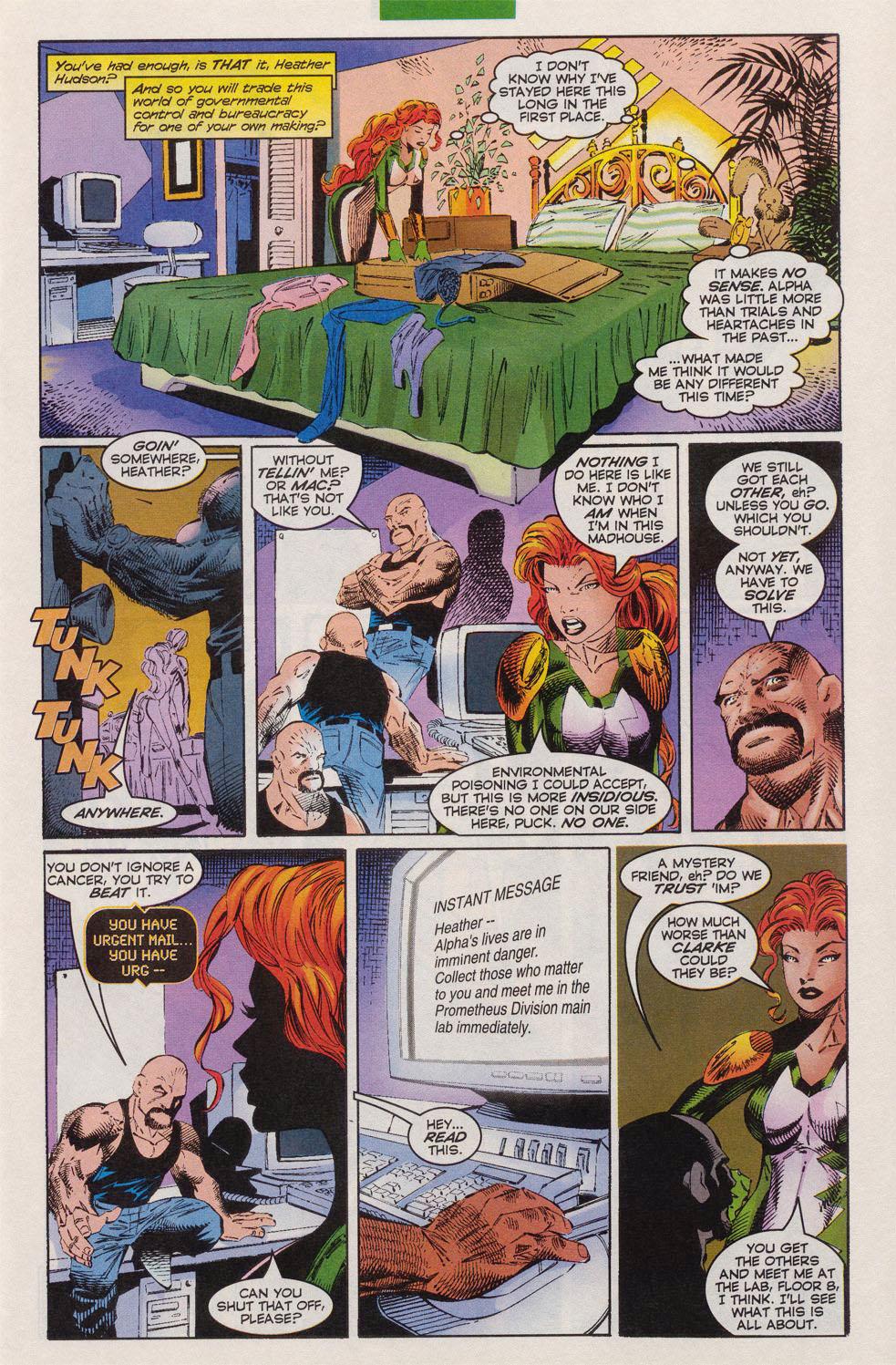 Read online Alpha Flight (1997) comic -  Issue #10 - 8