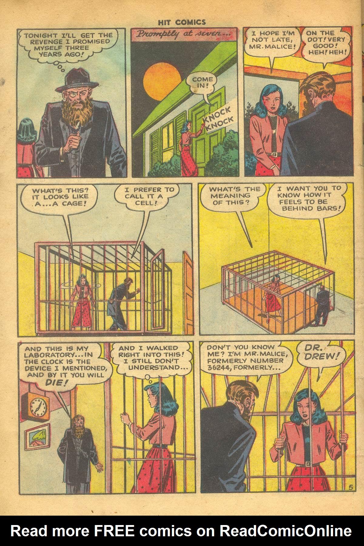 Read online Hit Comics comic -  Issue #60 - 32