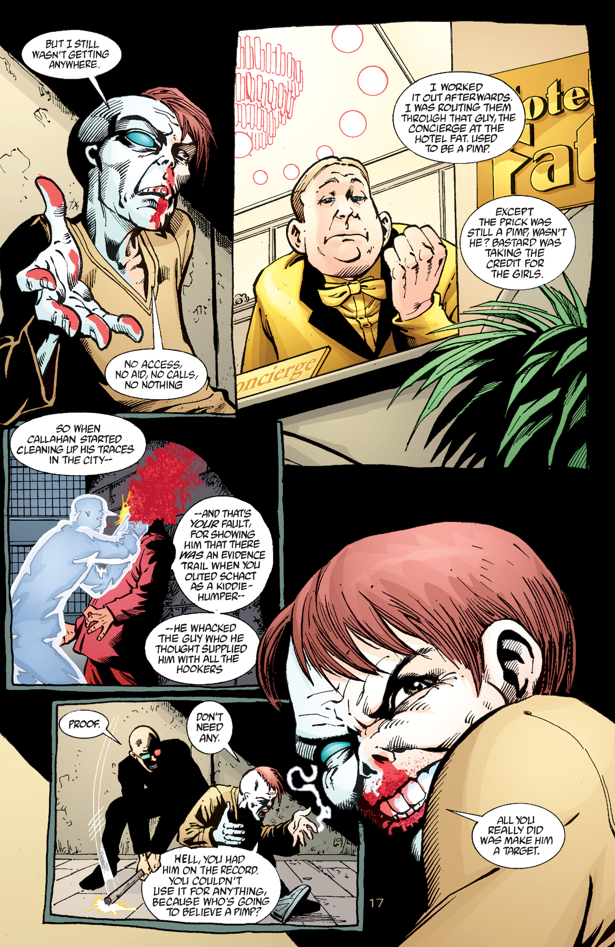 Read online Transmetropolitan comic -  Issue #50 - 18
