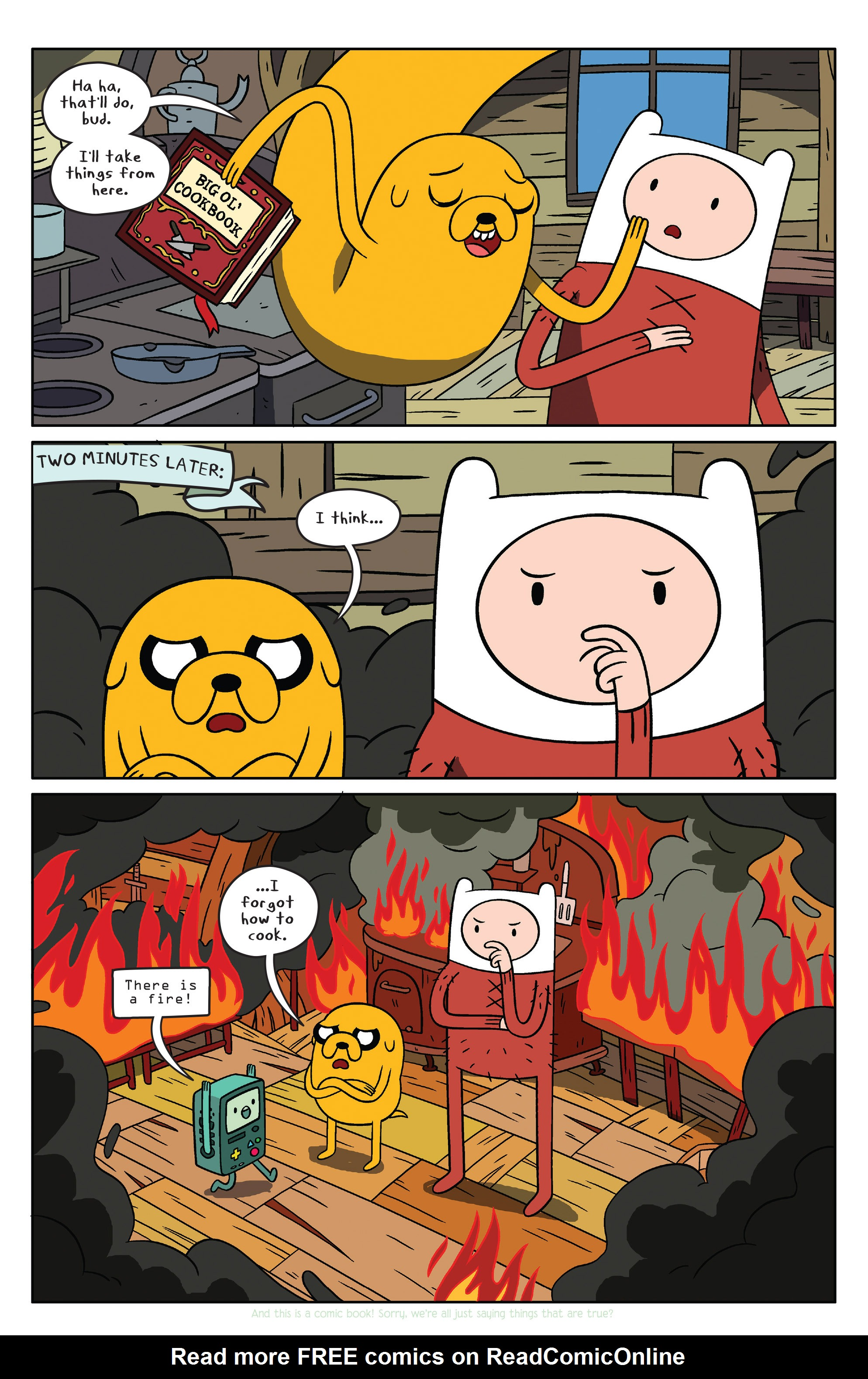 Read online Adventure Time comic -  Issue #37 - 5
