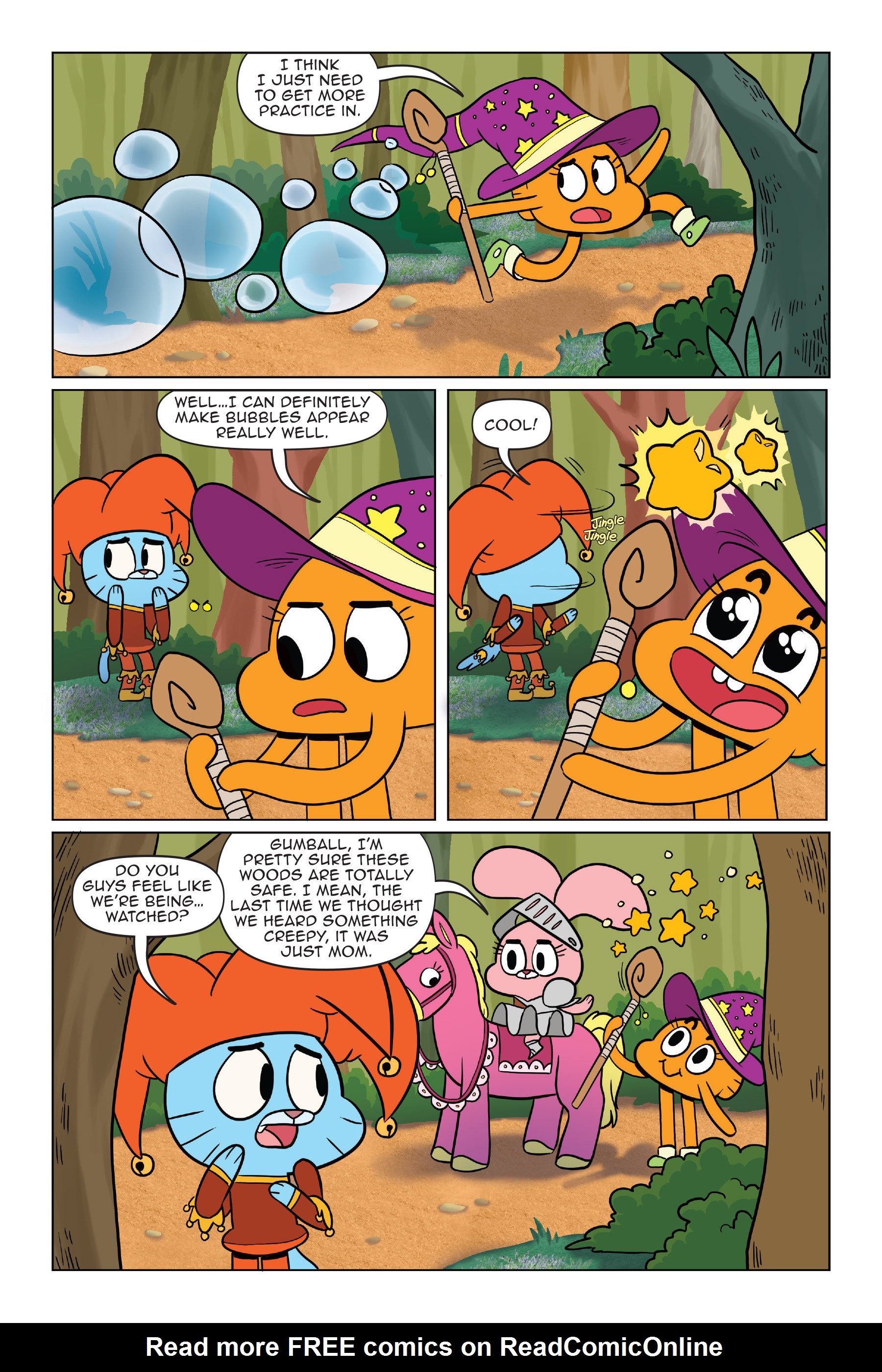 Read online The Amazing World of Gumball: Fairy Tale Trouble comic -  Issue # Full - 63