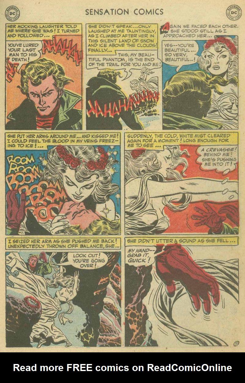 Read online Sensation (Mystery) Comics comic -  Issue #107 - 31