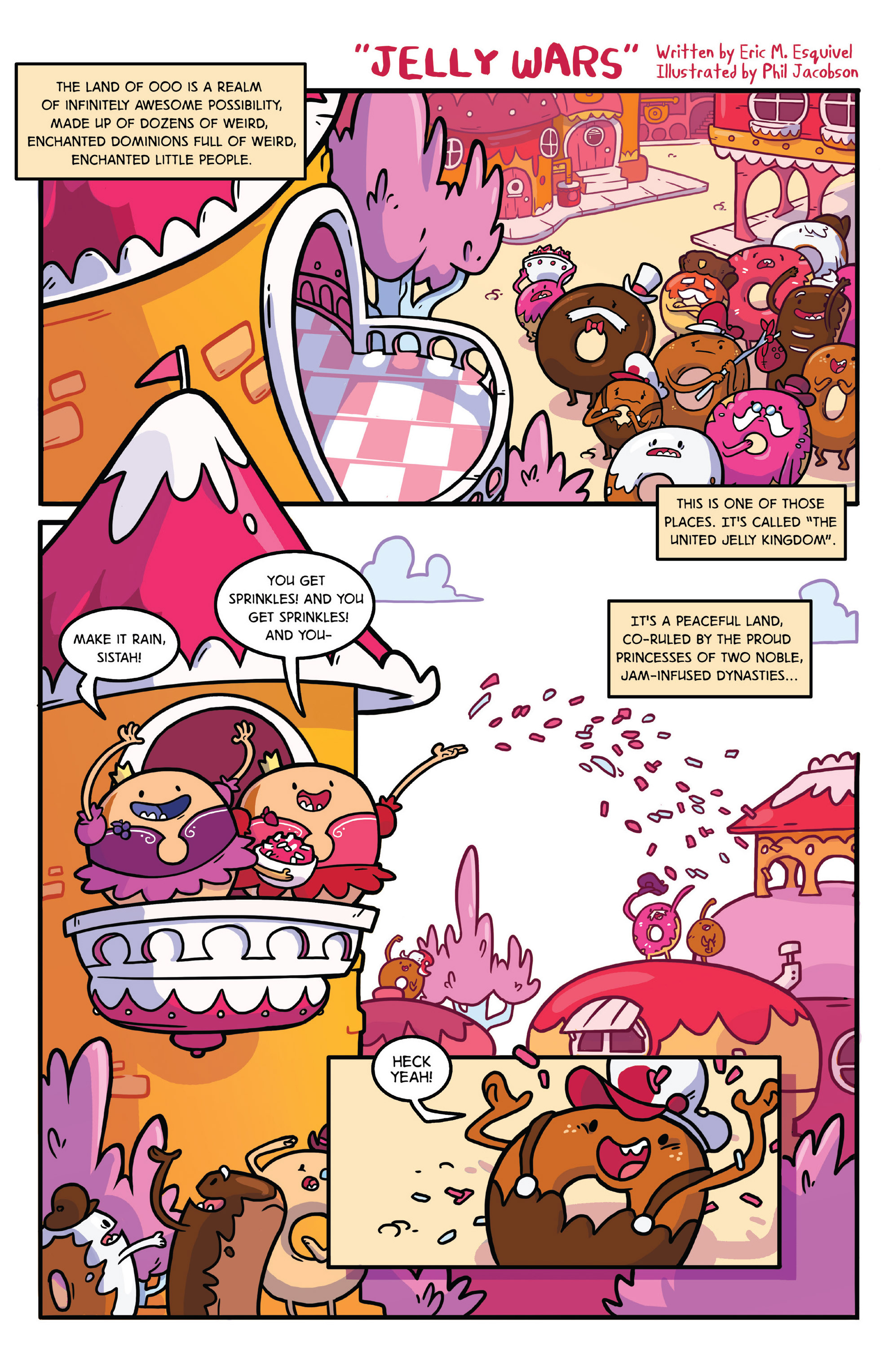 Read online Adventure Time comic -  Issue #27 - 23