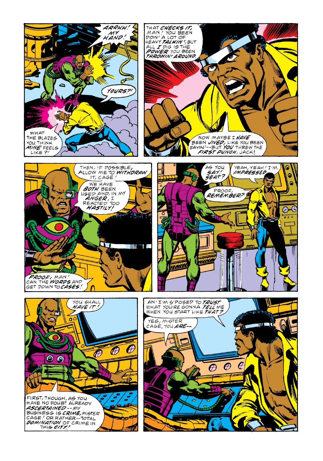 Read online Marvel Masterworks: Luke Cage, Power Man comic -  Issue # TPB 3 (Part 2) - 59